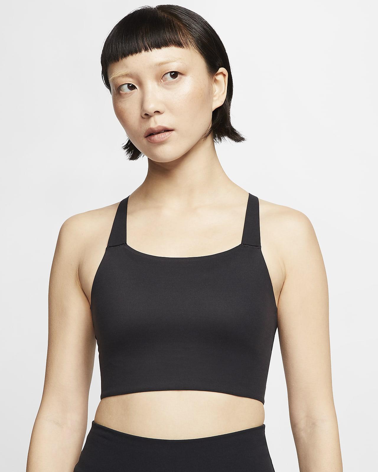 Nike Swoosh Luxe 女子中强度支撑运动内衣