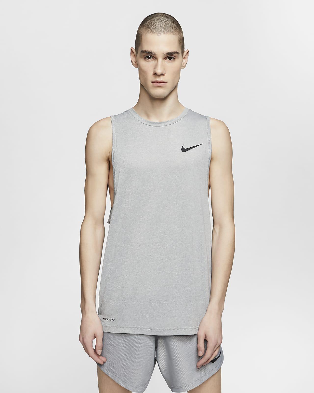 Malabares Hecho un desastre Eliminación  Nike Camiseta de tirantes de entrenamiento para hombre. Nike ES