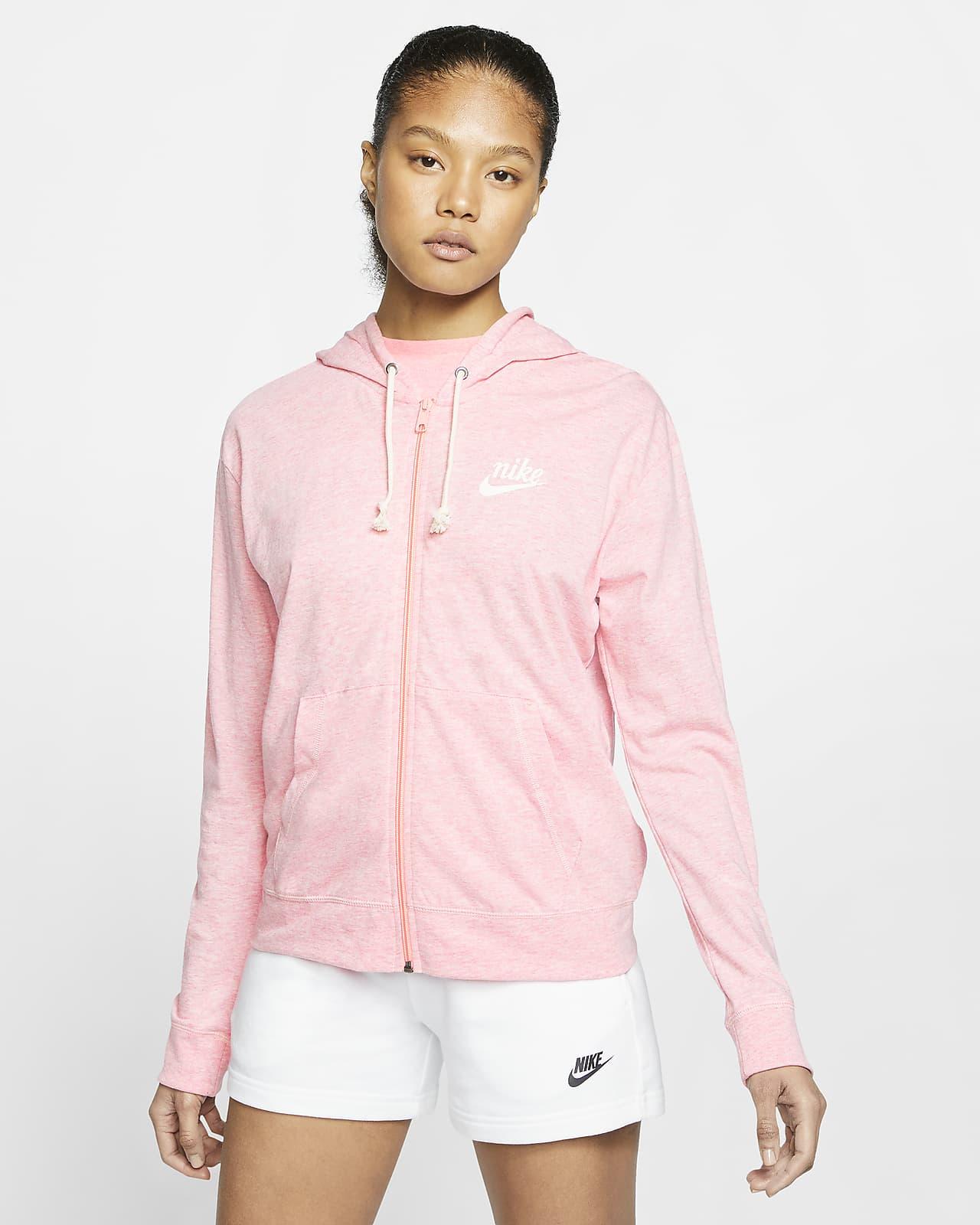 Sweat à capuche entièrement zippé Nike Sportswear Gym Vintage pour Femme