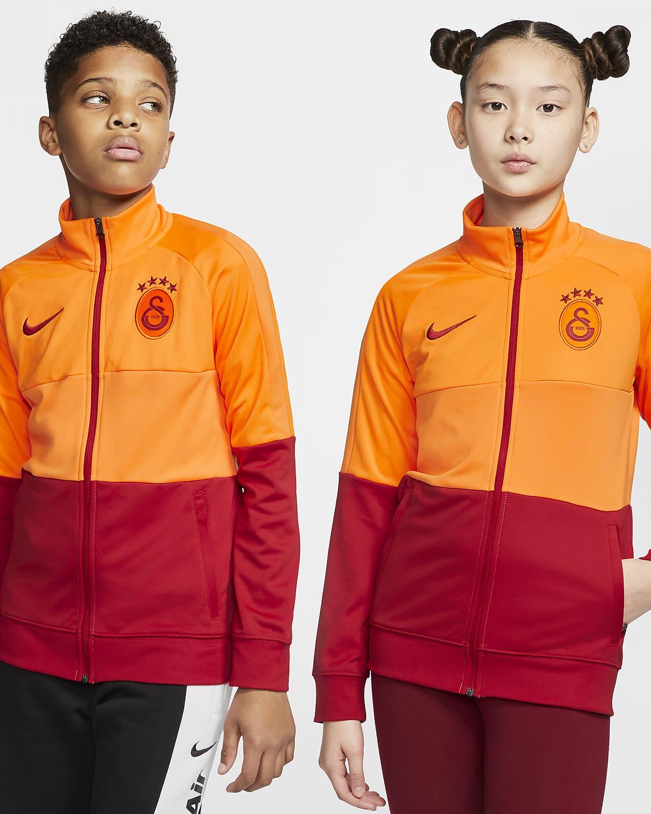 Galatasaray Older Kids' Football Tracksuit Jacket