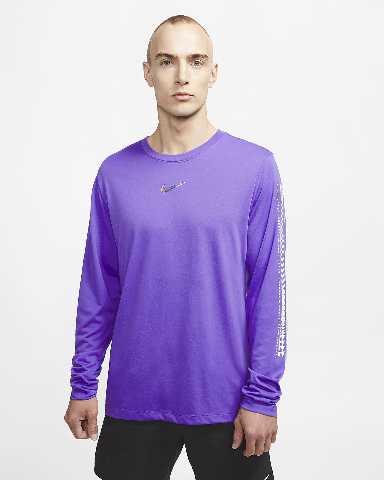 Nike Dri-FIT London løpe-T-skjorte