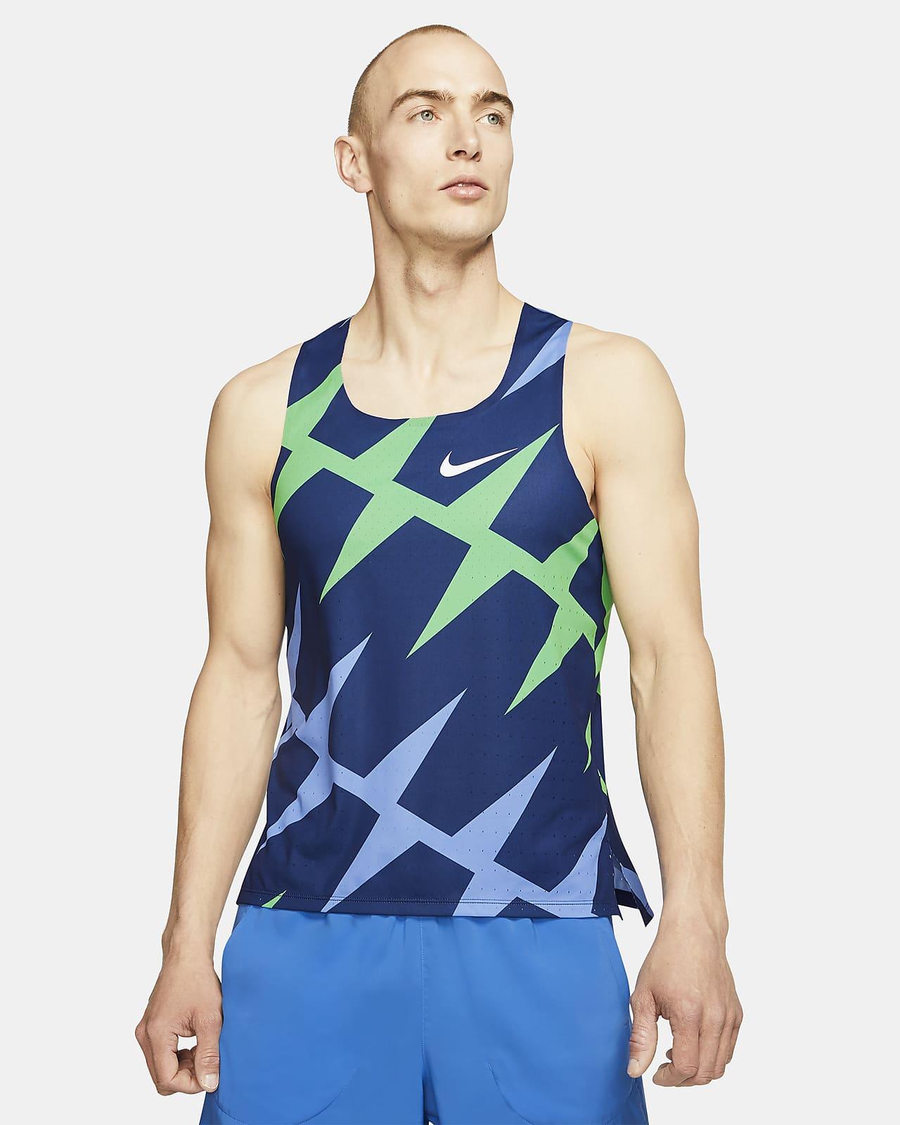 Pánské běžecké tílko Nike AeroSwift