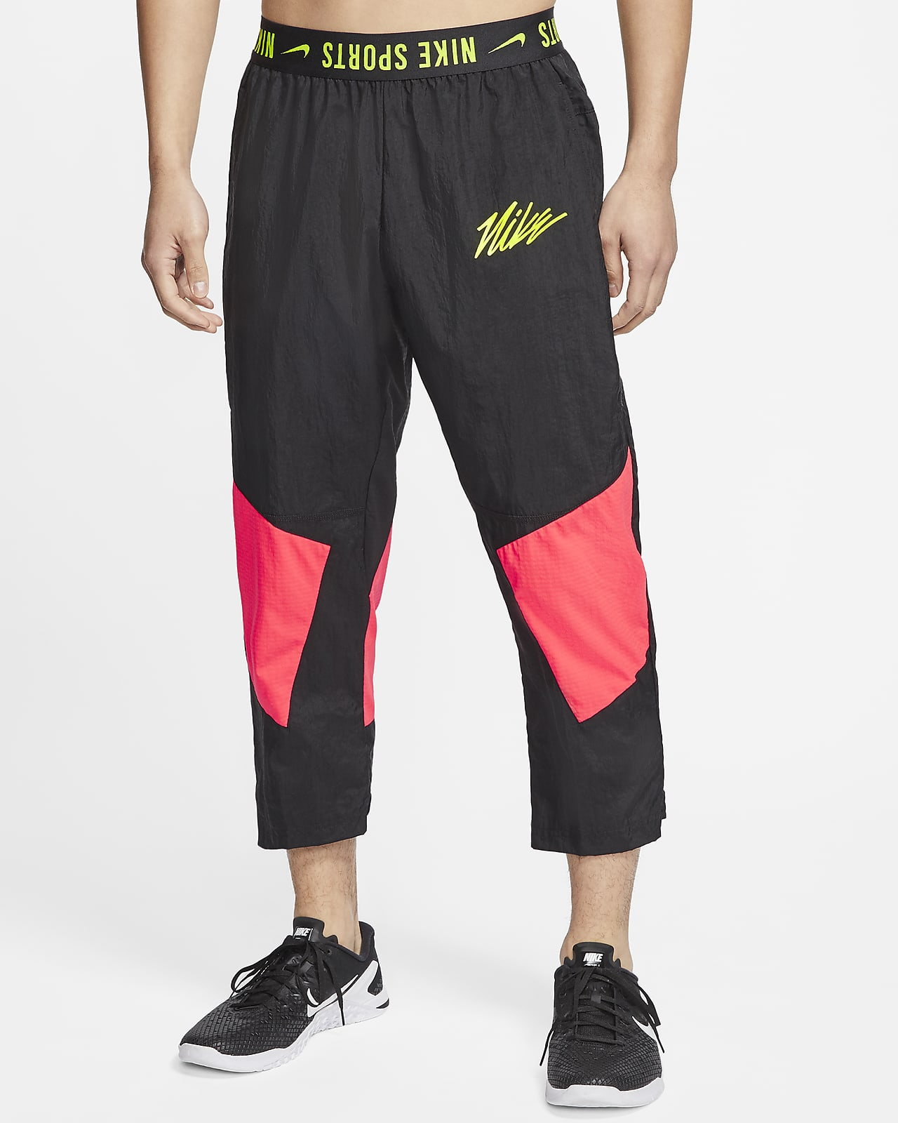 Nike 男款梭織訓練運動褲