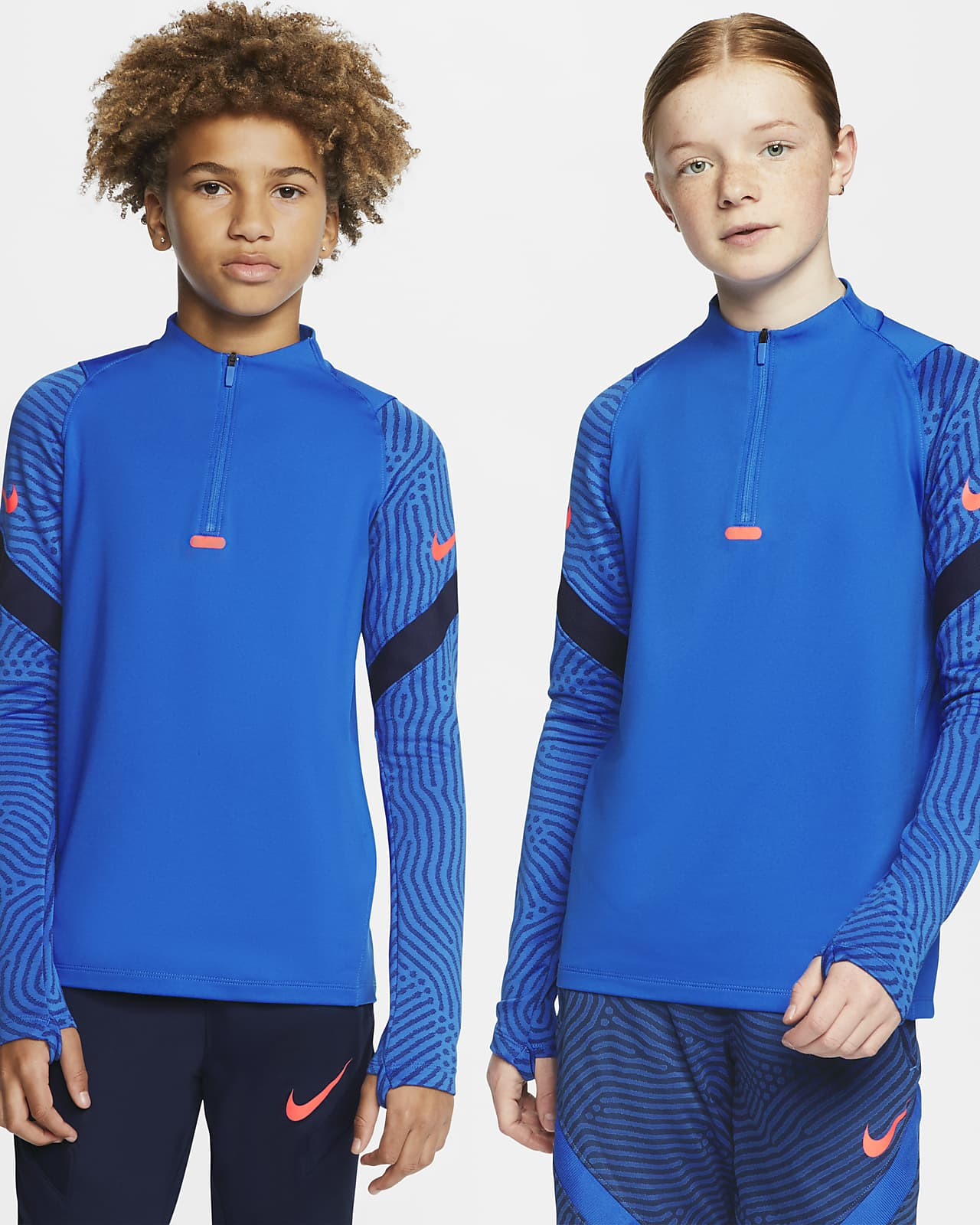 Nike Dri-FIT Strike Part superior d'entrenament de futbol - Nen/a