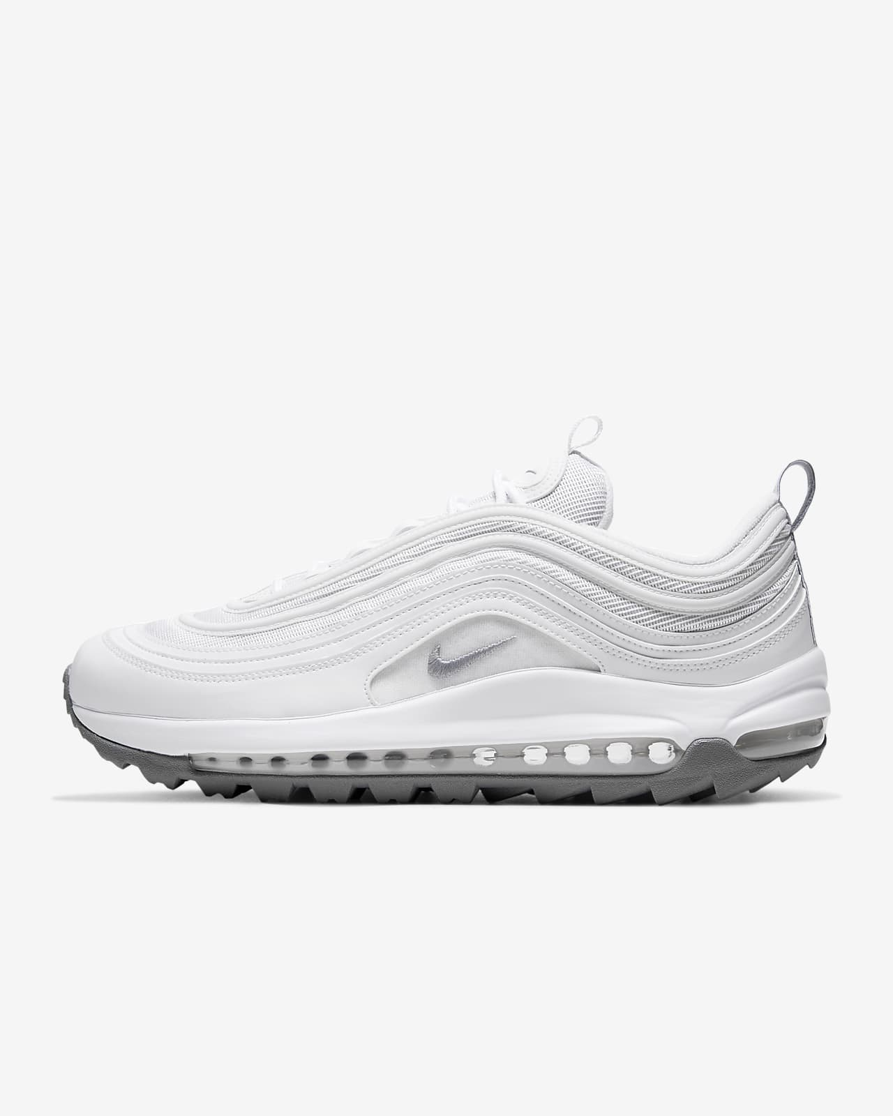 nike sneaker air max 97 blanche