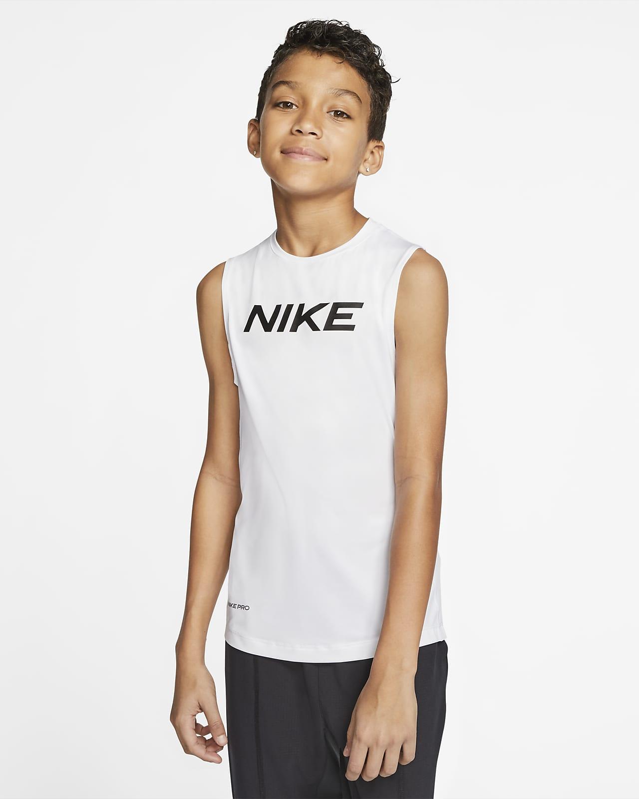 Prenda para la parte superior para niño talla grande Nike Pro