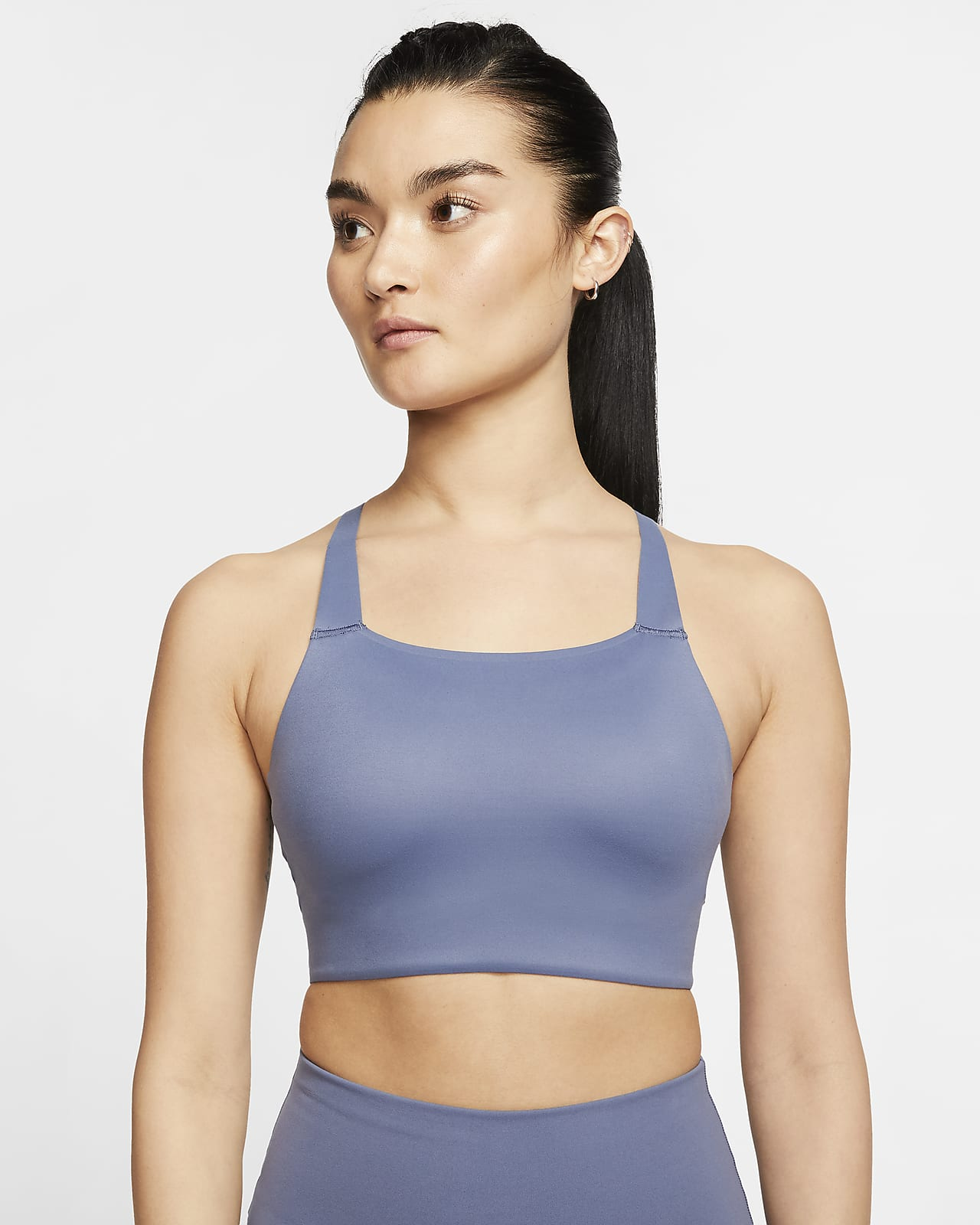 Nike Swoosh Luxe 女款中度支撐型運動內衣