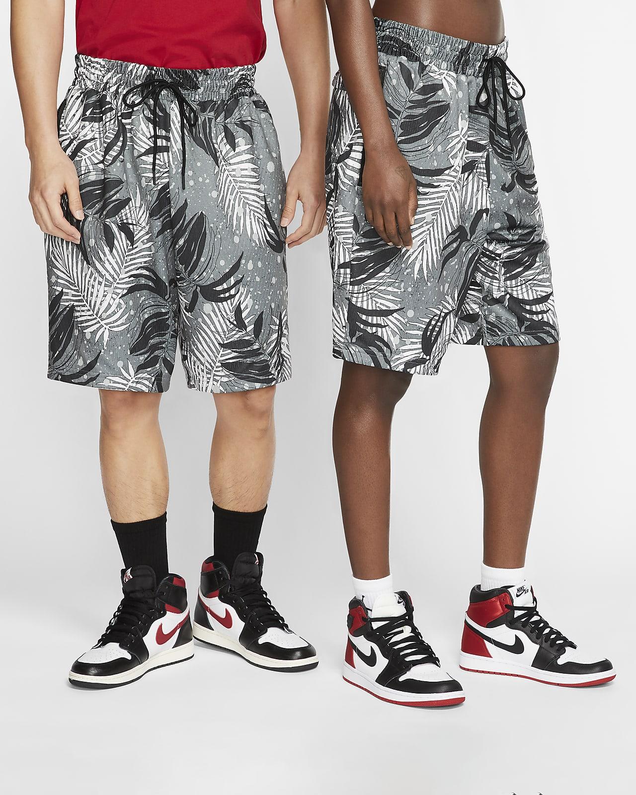 Stickade, mönstrade shorts Jordan Jumpman