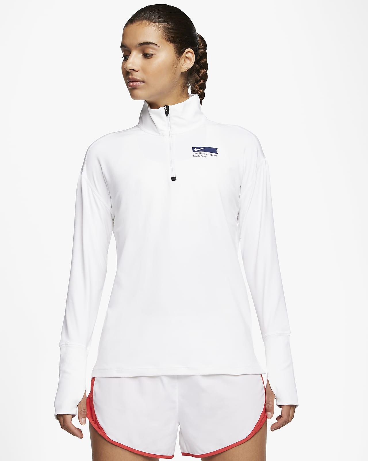 Nike Element Blue Ribbon Sports Women's 1/2-Zip Running Top