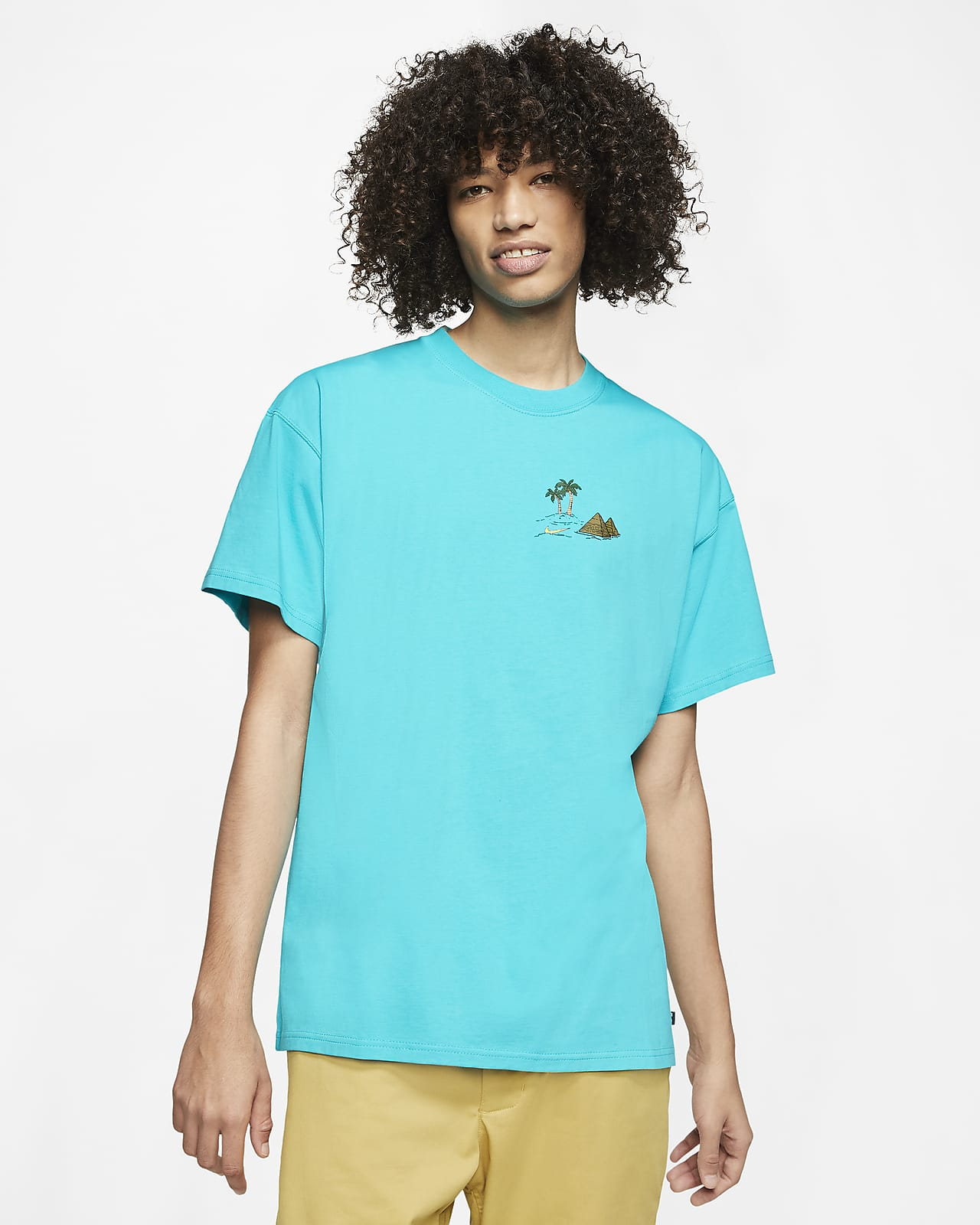 Tee shirt de skateboard Nike SB pour Homme