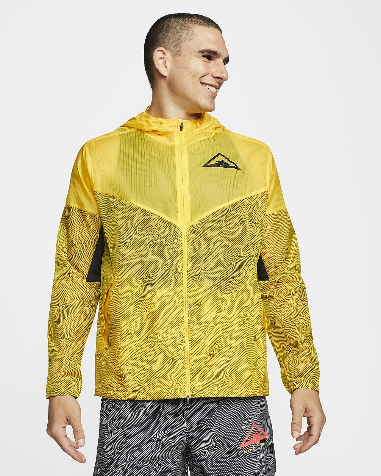 Nike Windrunner-løbejakke med hætte til mænd