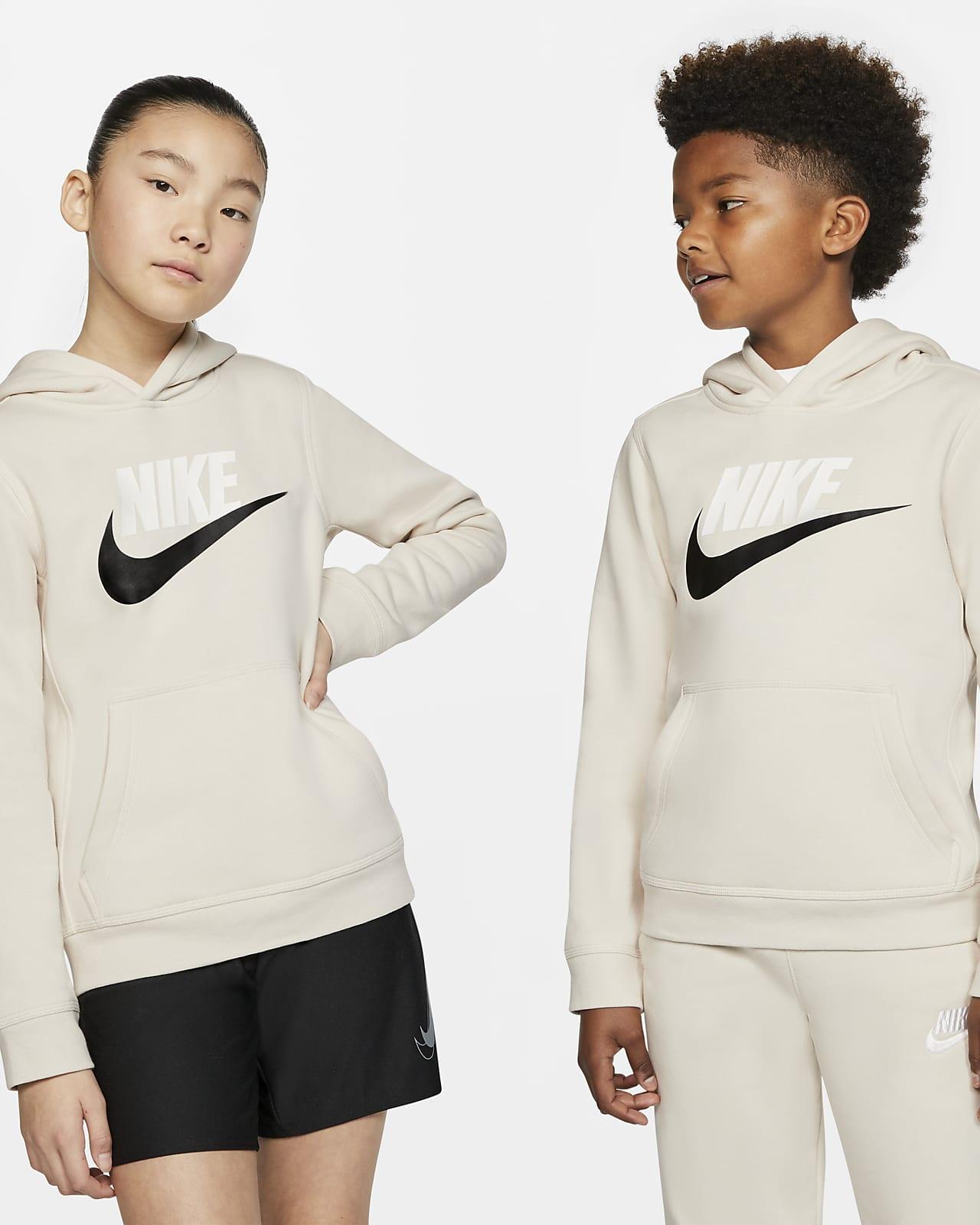 Hoodie pullover Nike Sportswear Club Fleece Júnior