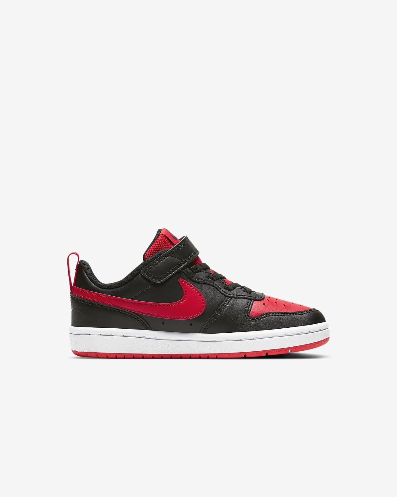 zapatos nike court rojos