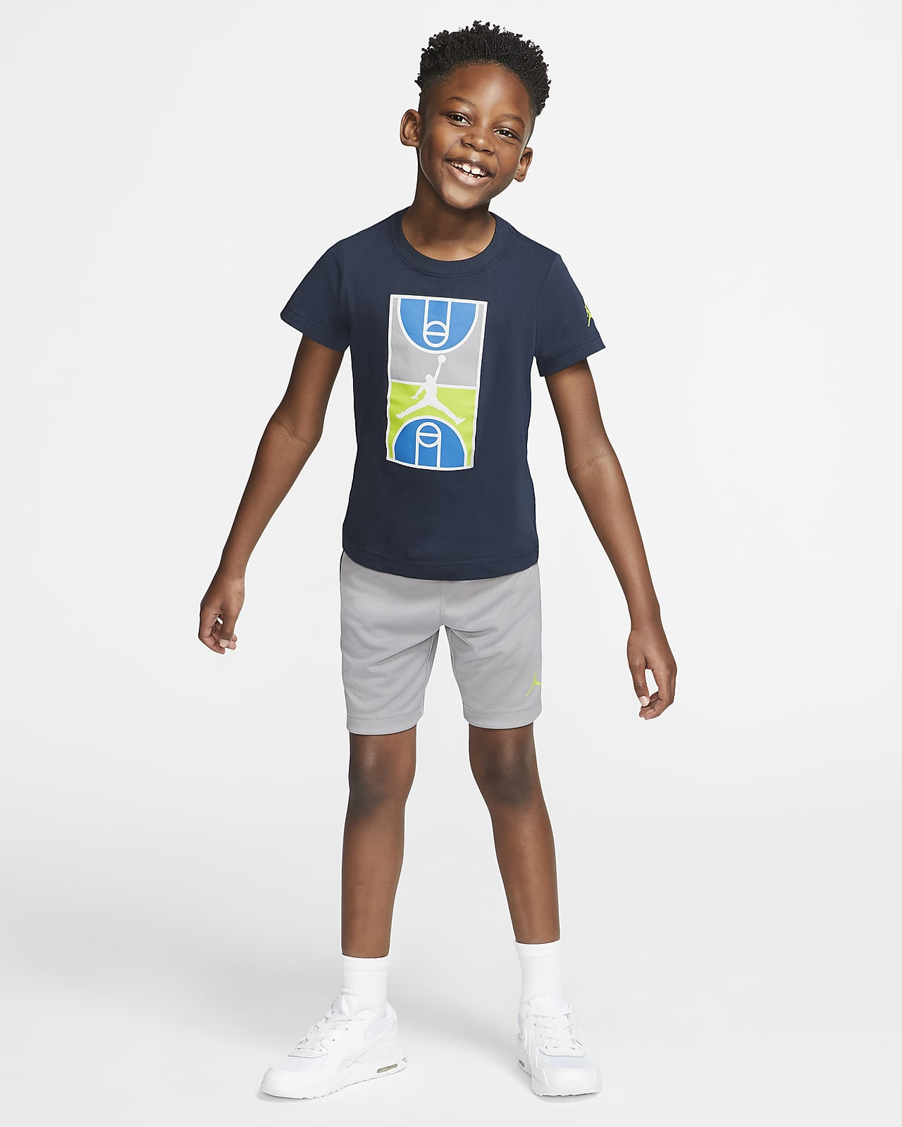 prova Bloccare gonna  Completo t-shirt e shorts Jordan - Bambini. Nike IT