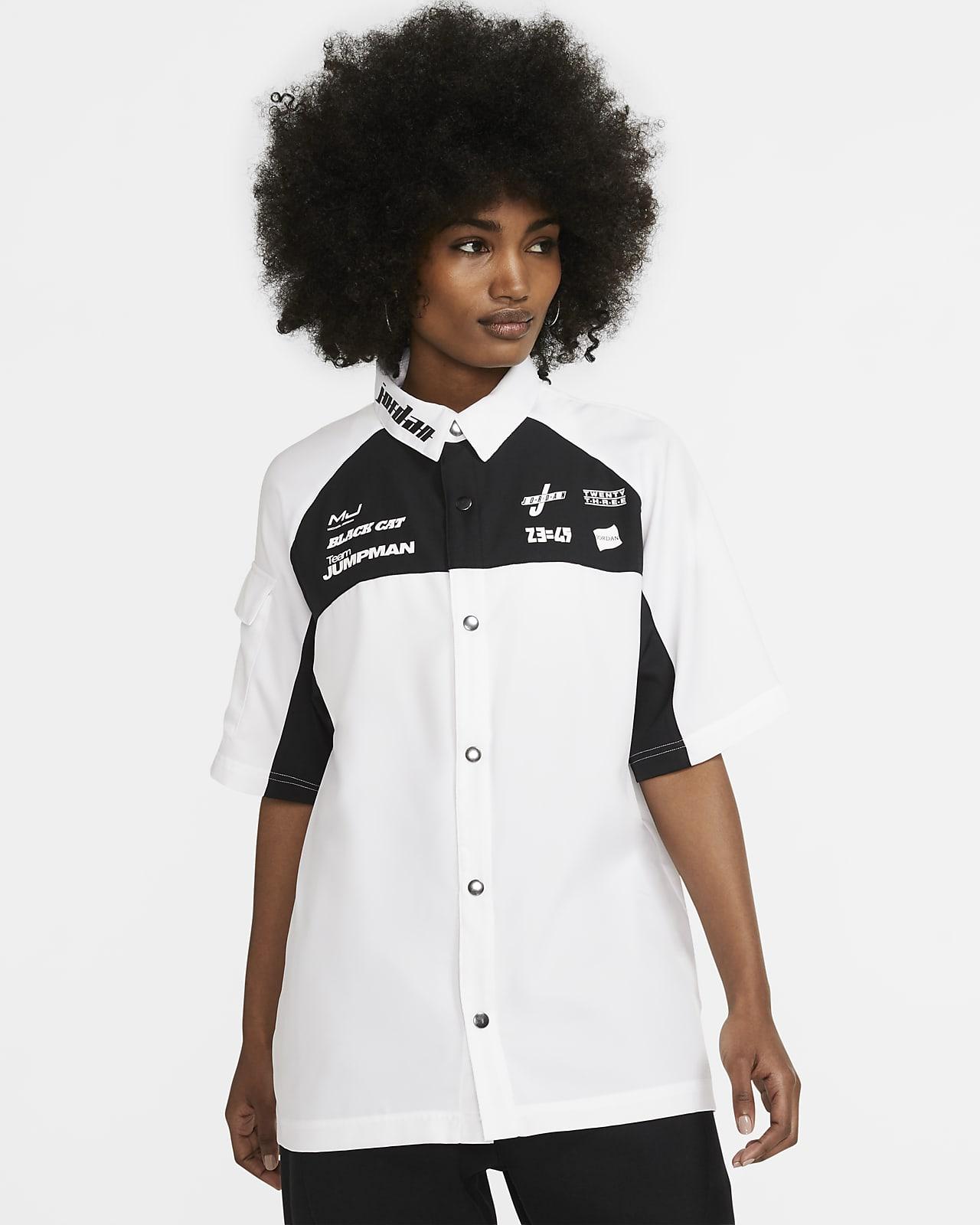 Kortärmad tröja Jordan Moto för kvinnor