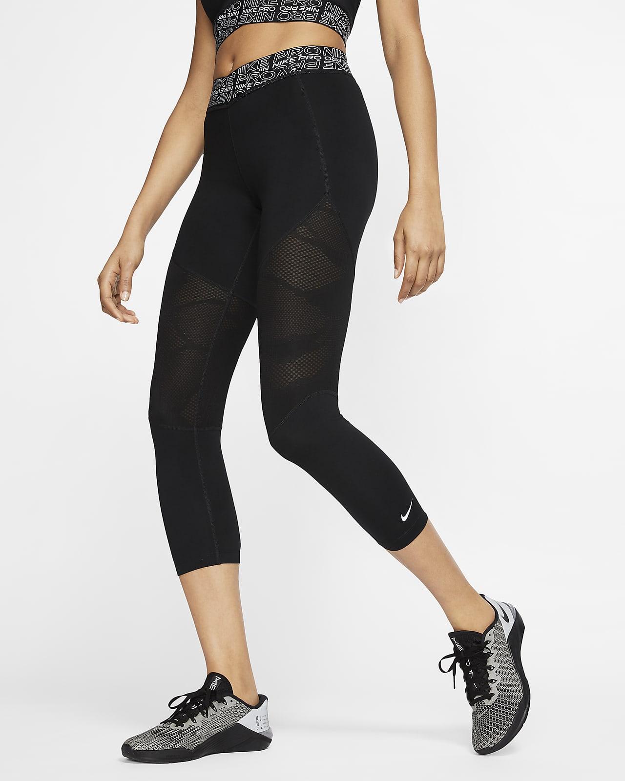 intersección vaso Interminable  Nike Pro Women's Crop Tights. Nike.com