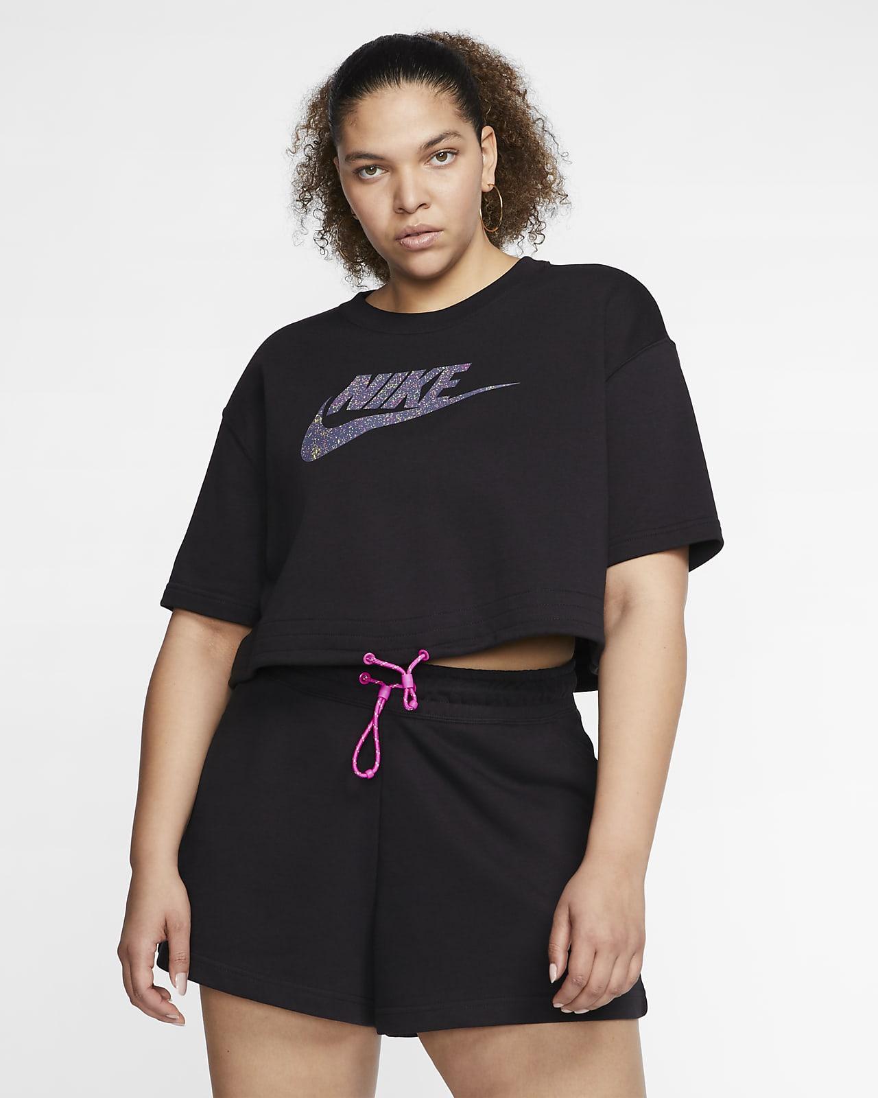 Nike Sportswear Icon Clash Women's Short-Sleeve Top (Plus Size)