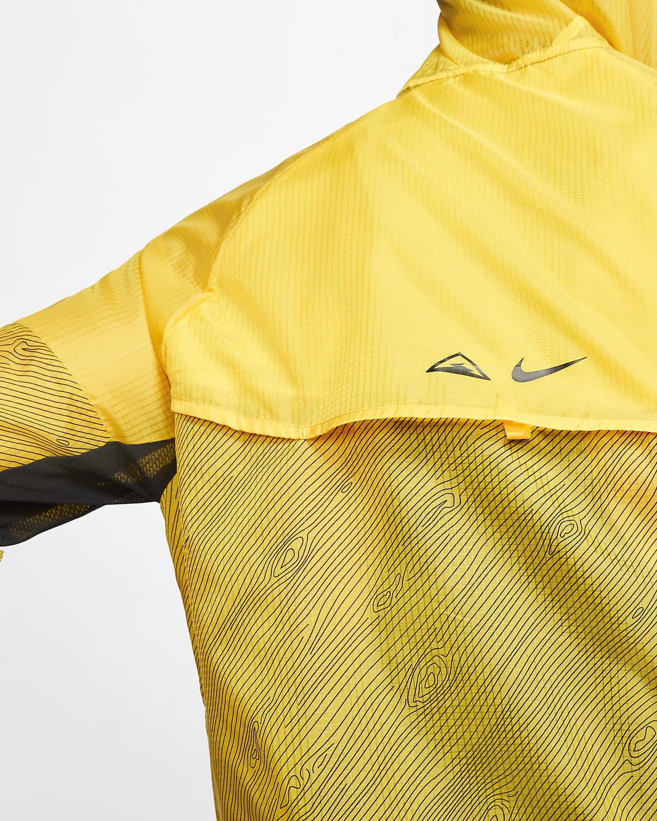 Hooded Trail Running Jacket. Nike SG