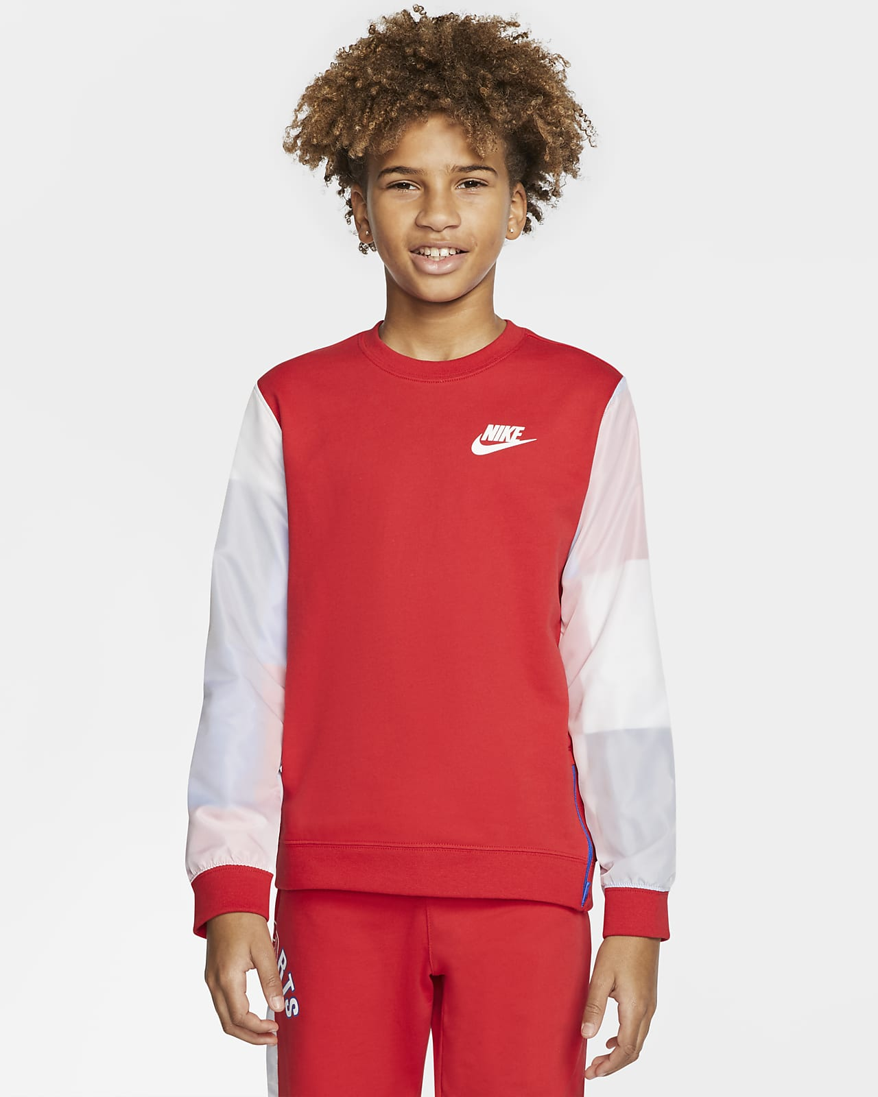 Sudadera para niño talla grande Nike Sportswear