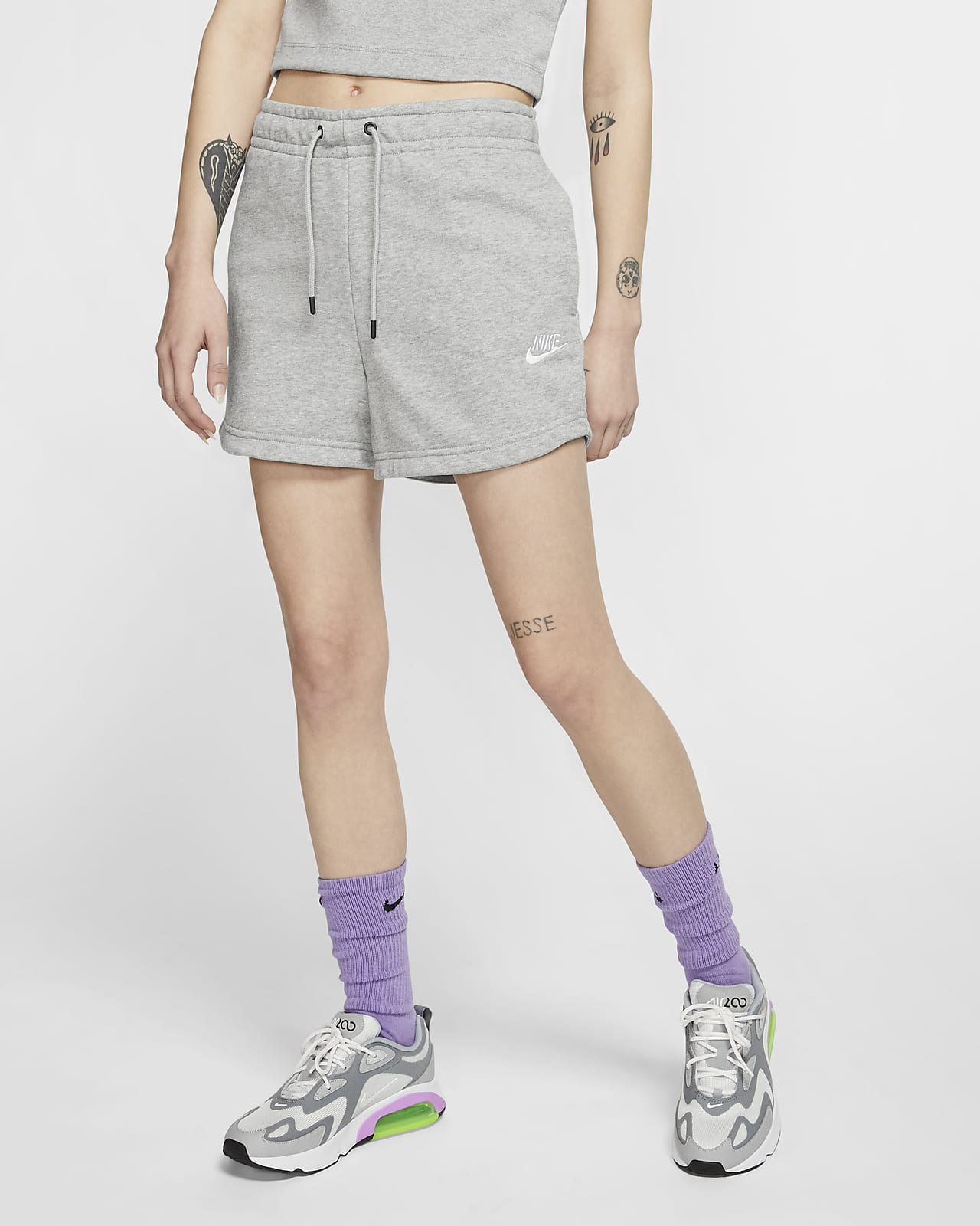 Shorts de French Terry para mujer Nike Sportswear Essential