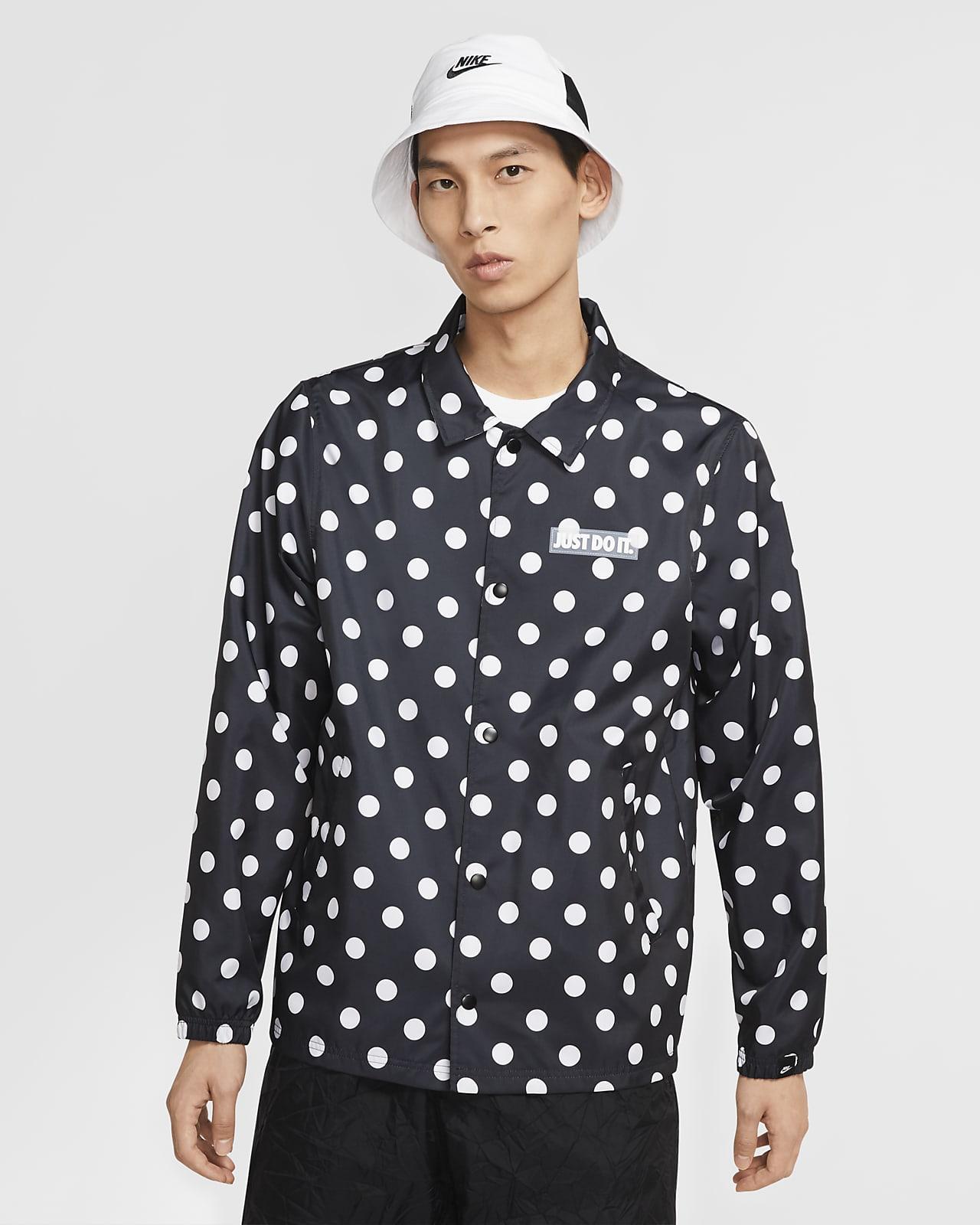 เสื้อแจ็คเก็ตผู้ชายแบบทอ Nike Sportswear JDI