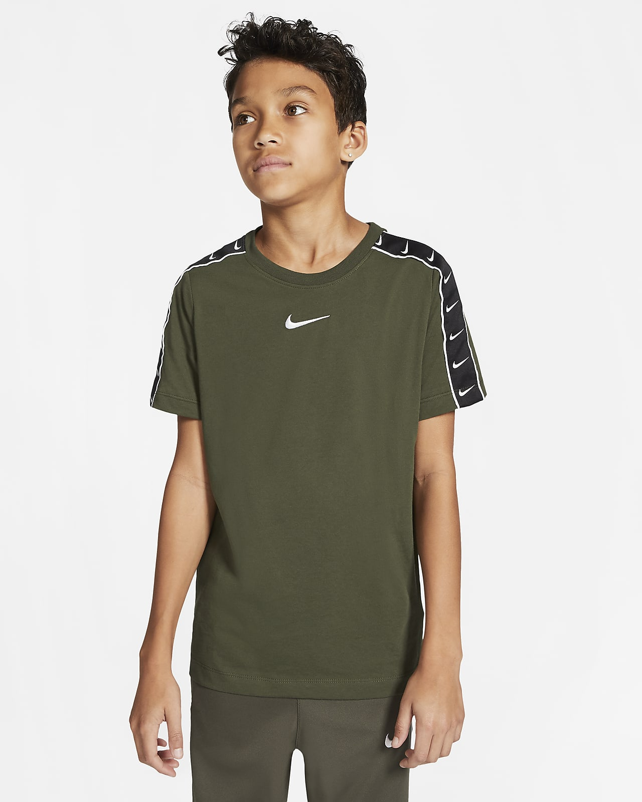 T-shirt Nike Sportswear Swoosh för ungdom