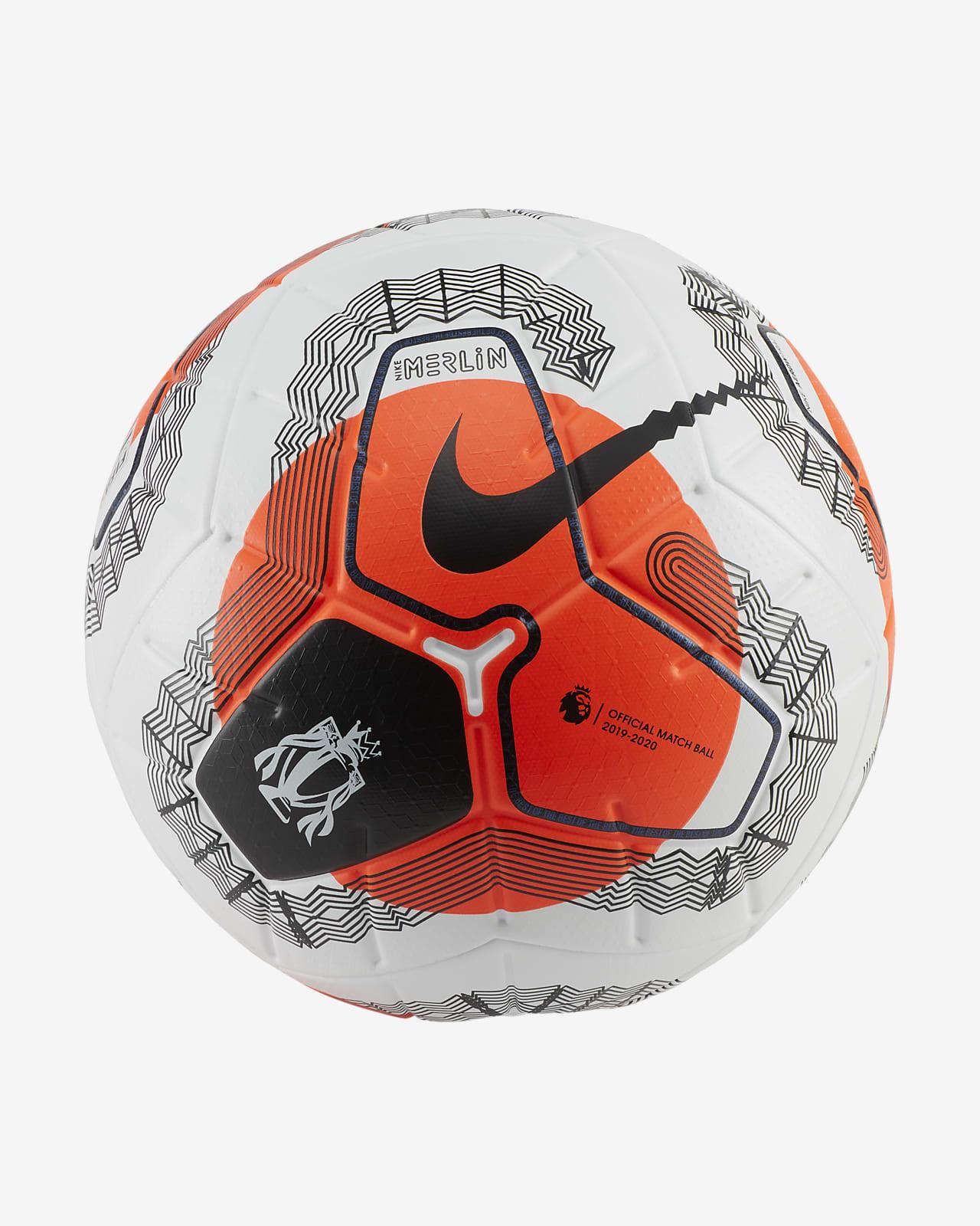 haz muñeca pianista  Premier League Tunnel Vision Merlin Soccer Ball. Nike.com