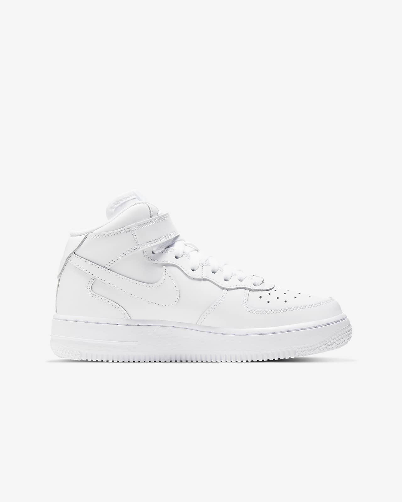 Calzado Para Ninos Talla Grande Nike Air Force 1 Mid Nike Cl