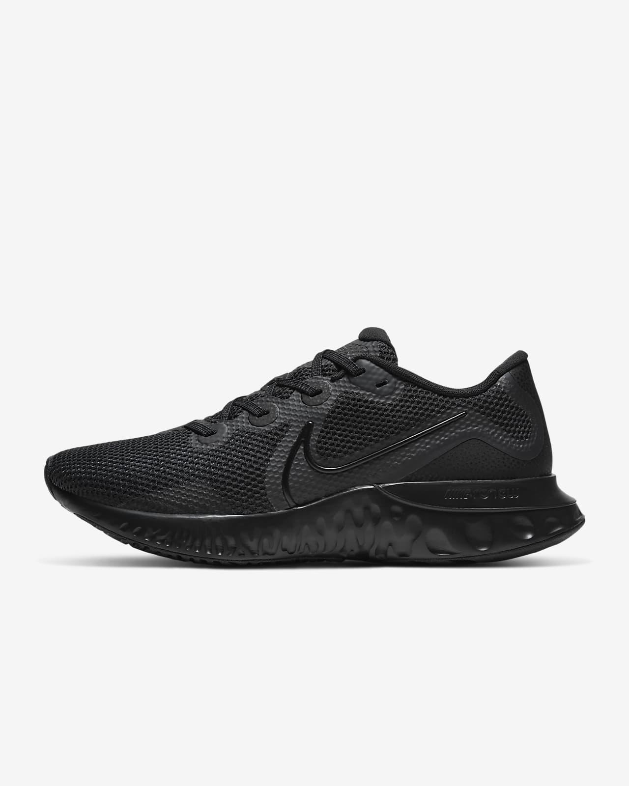 nike full black sneakers
