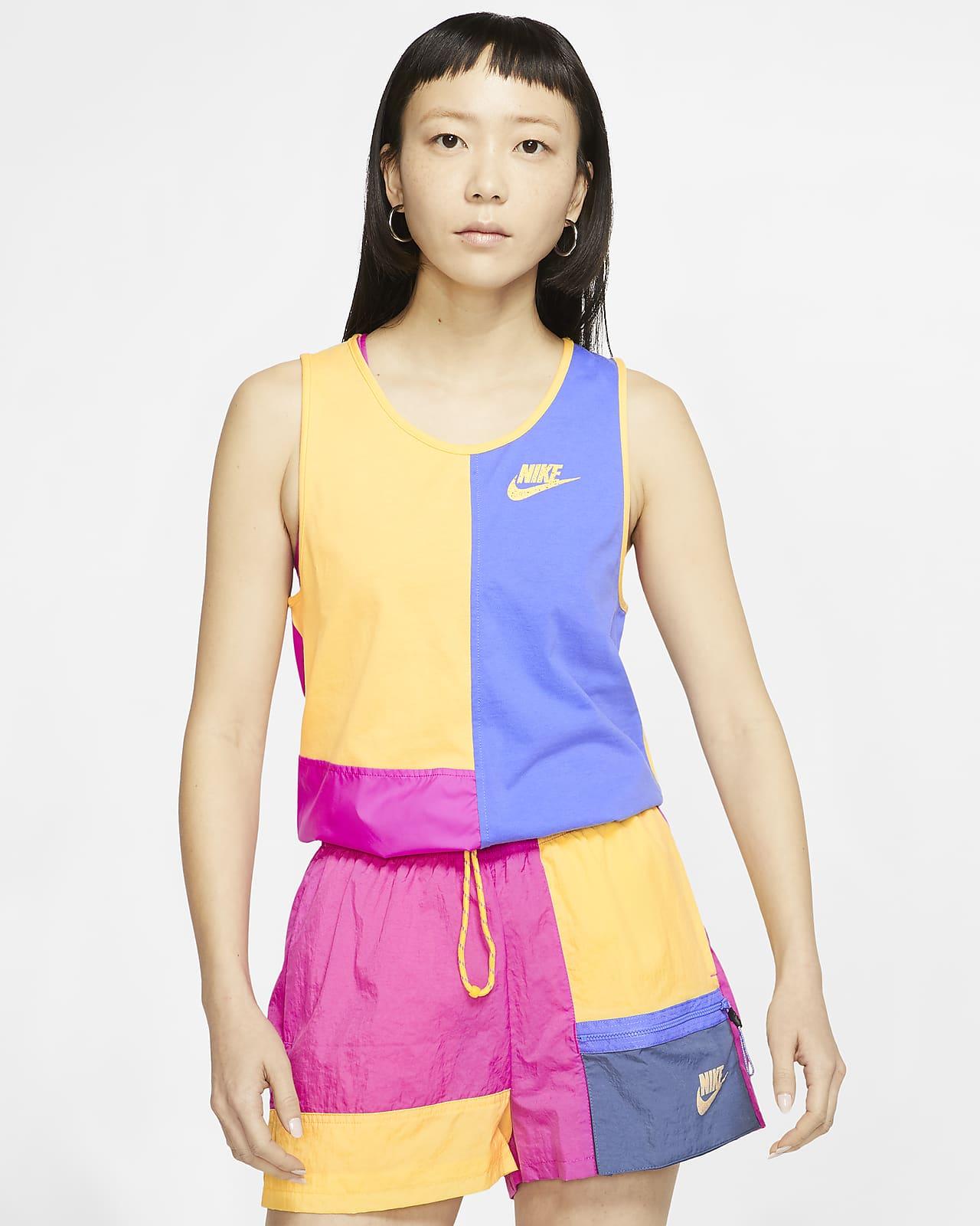 เสื้อกล้ามผู้หญิง Nike Sportswear Icon Clash