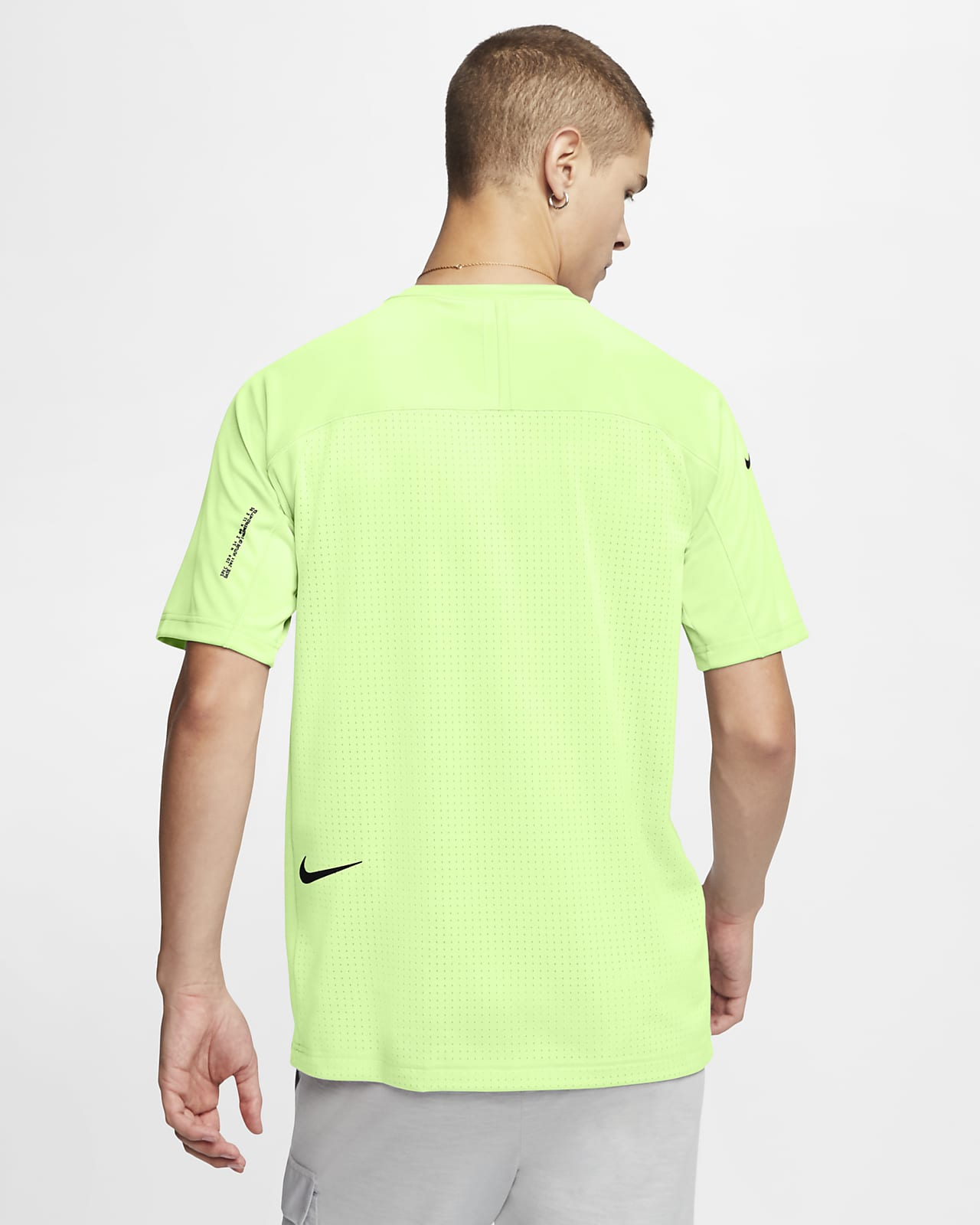 Nike Sportswear Tech Pack Men's Short Sleeve Knit Top