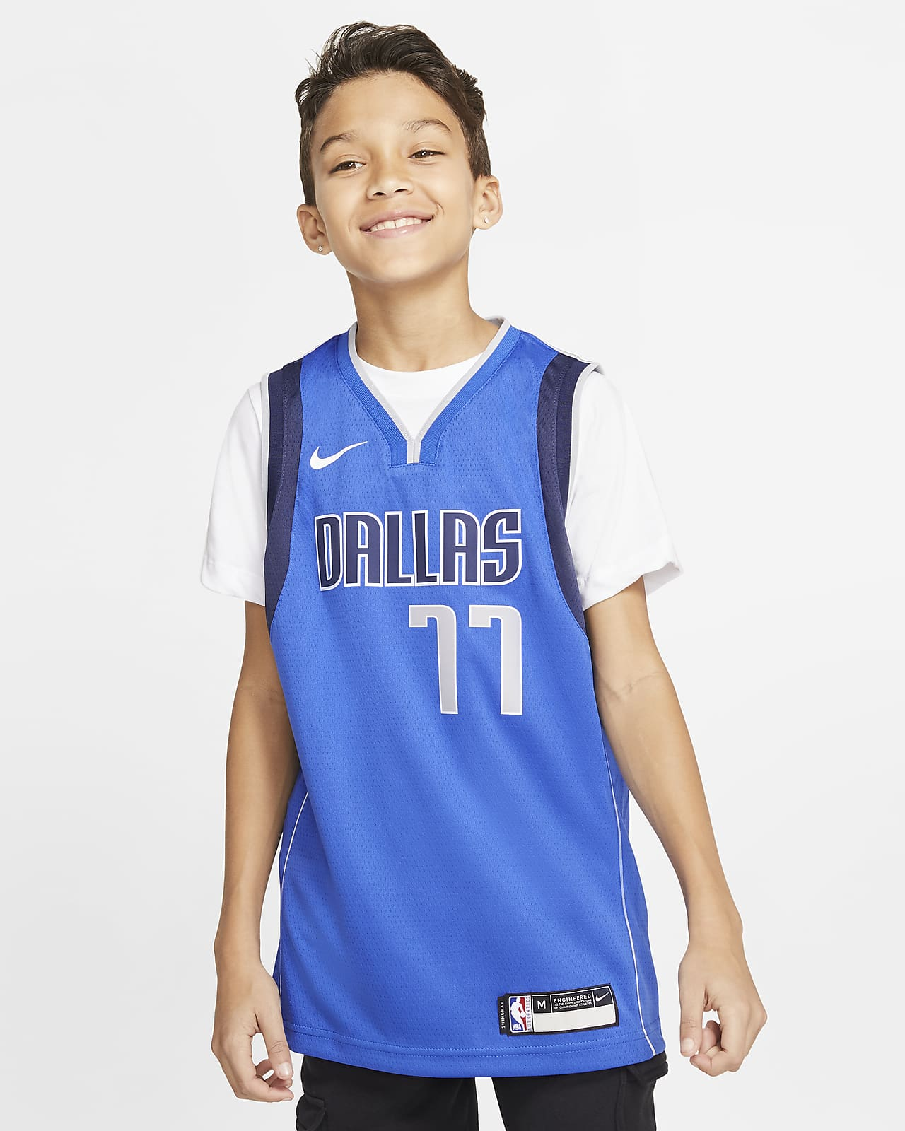 Mavericks Icon Edition Older Kids' Nike NBA Swingman Jersey