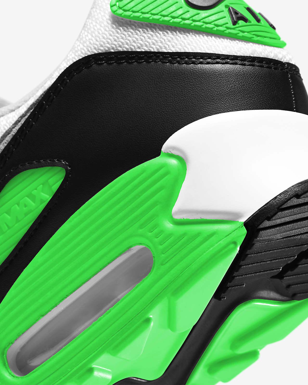 air max 90 verde hombres
