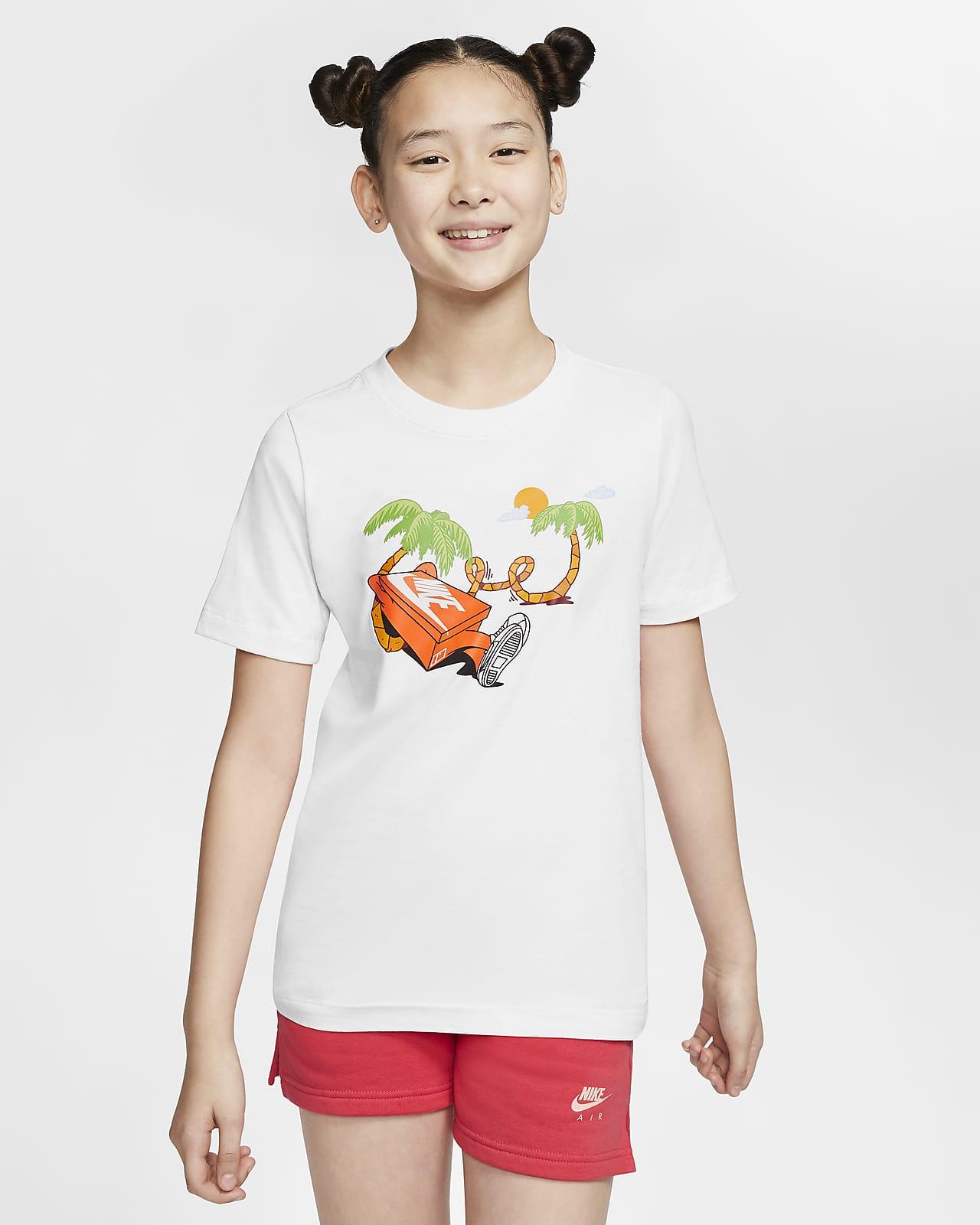 Nike Sportswear-T-shirt til store børn