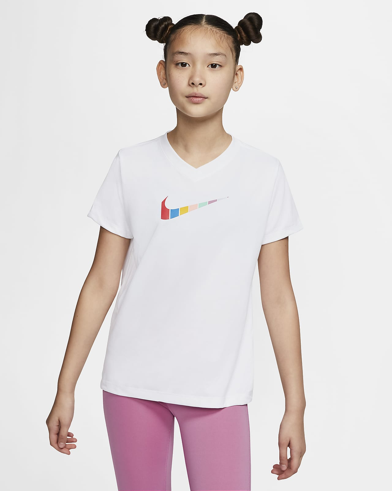 Nike Dri-FIT Big Kids' (Girls') T-Shirt