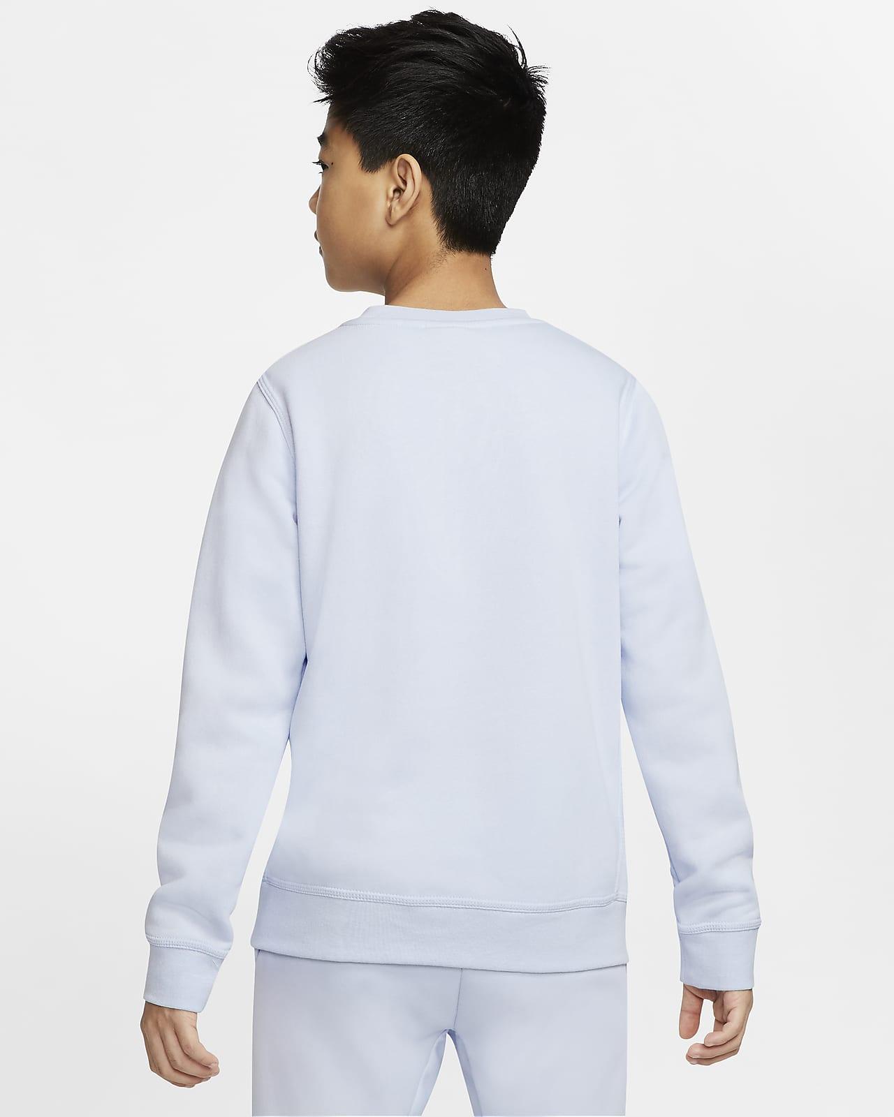 Nike Sportswear Club Fleece genser til store barn (gutt