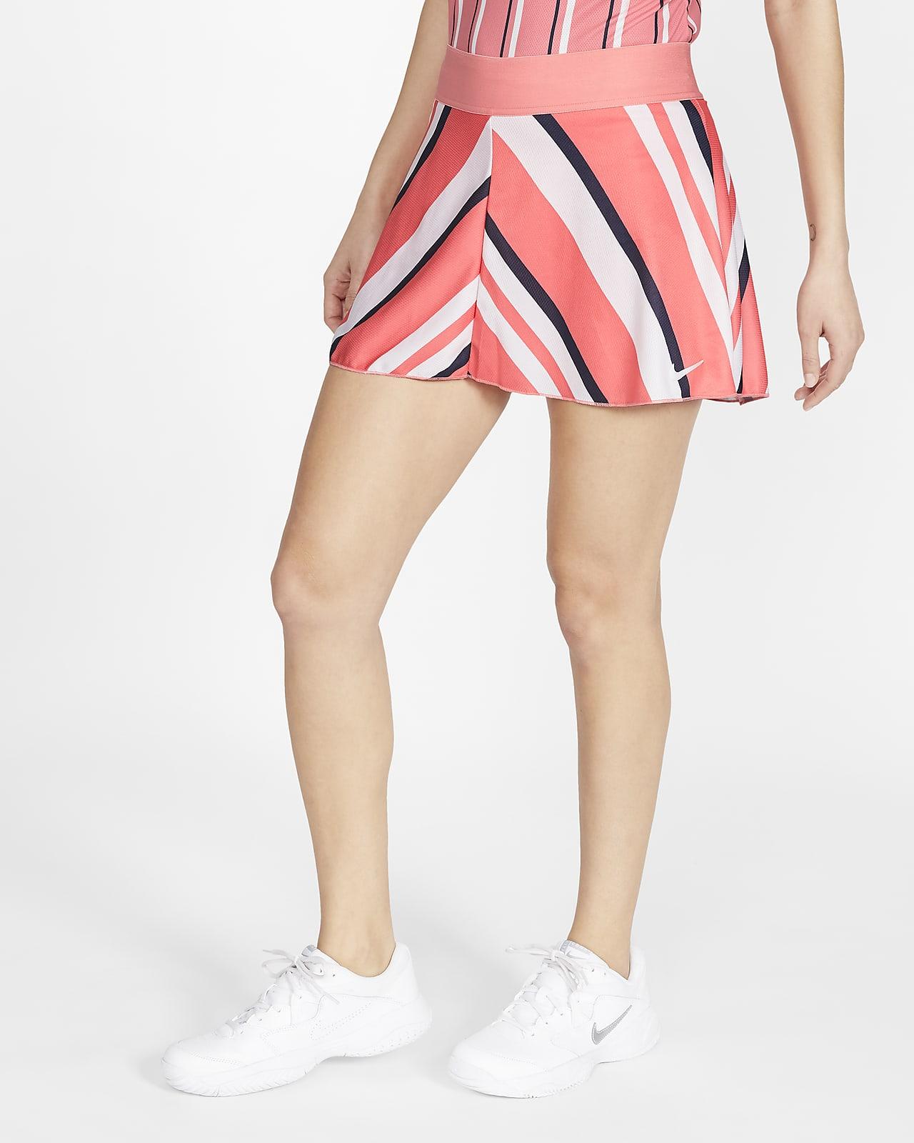 NikeCourt Dri-FIT Falda de tenis con estampado - Mujer