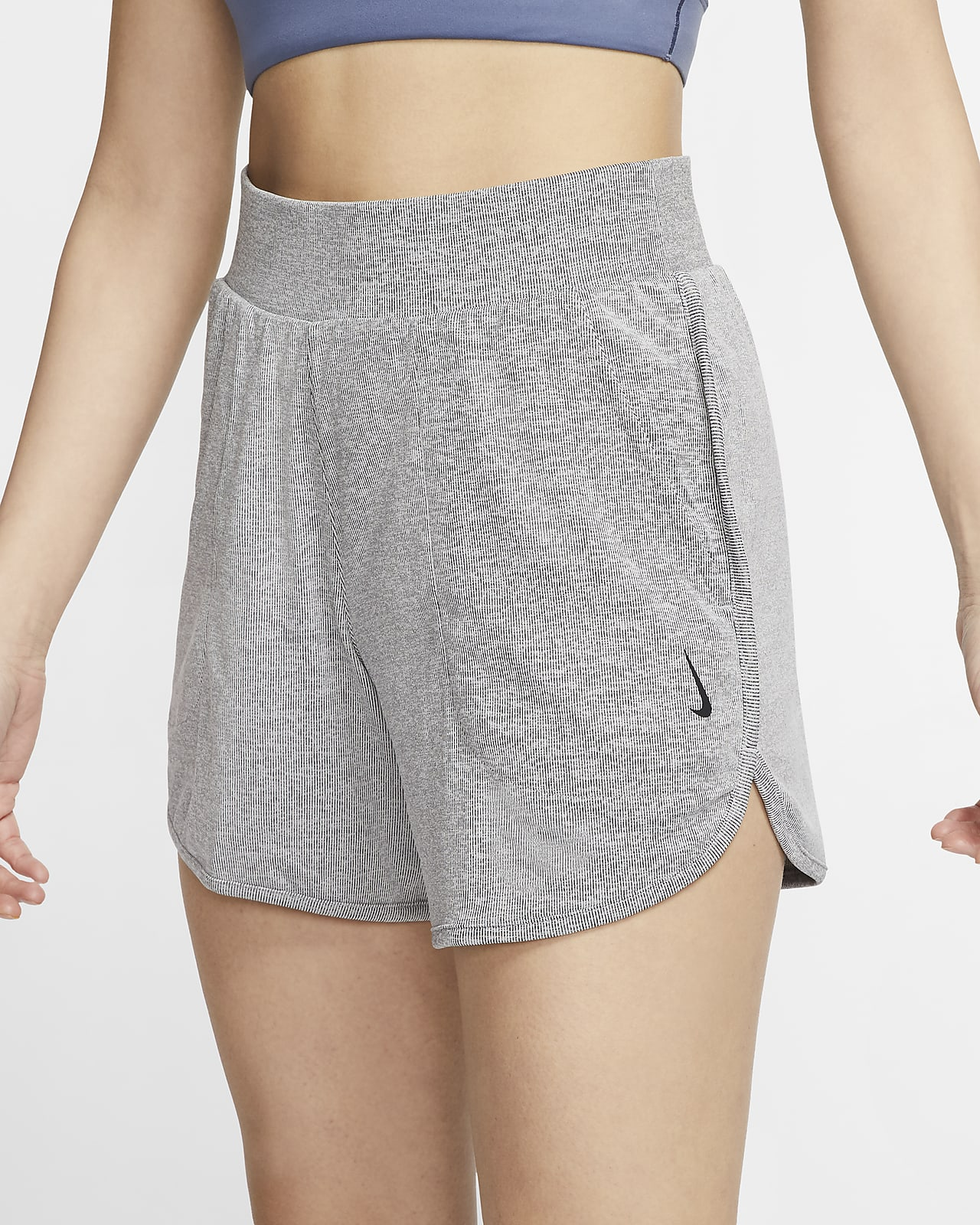 Nike Yoga Women S Ribbed Shorts Nike Ph