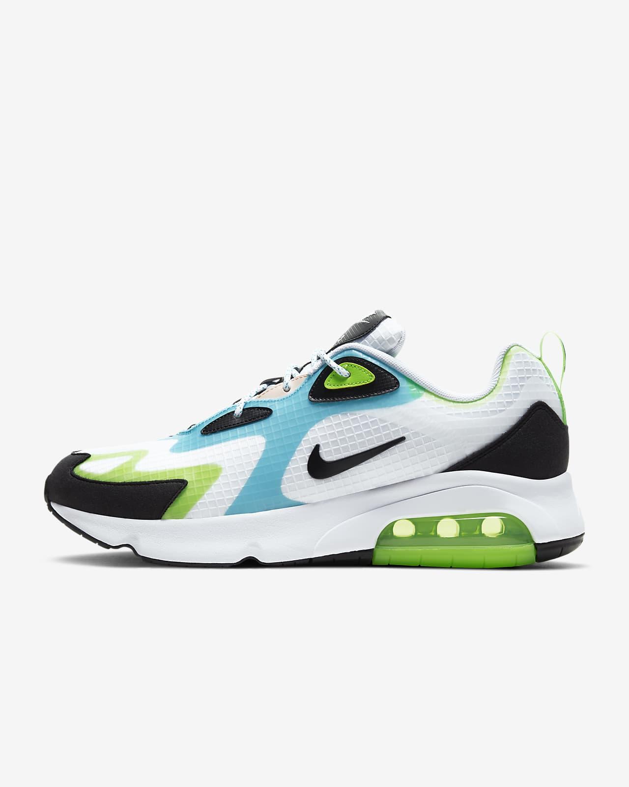 chaussure homme nike vert