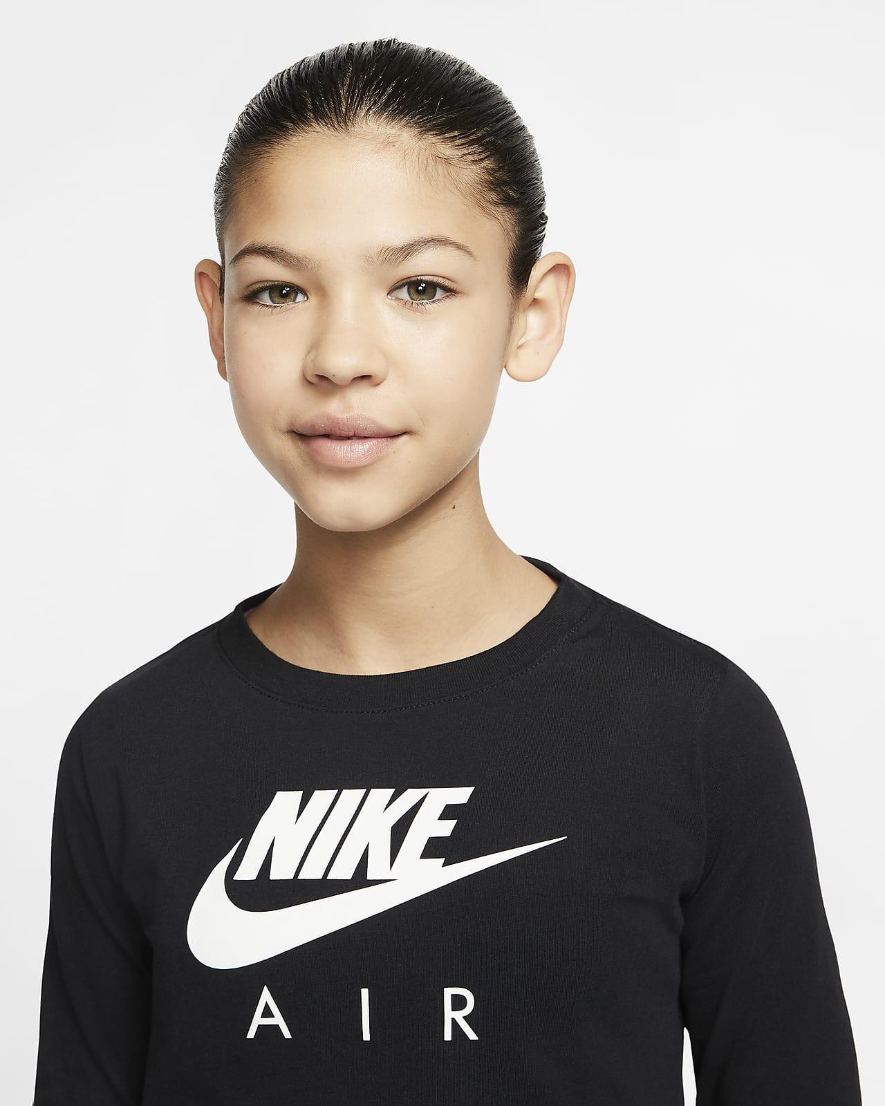 Tee shirt à manches longues Nike Air pour Fille plus âgée