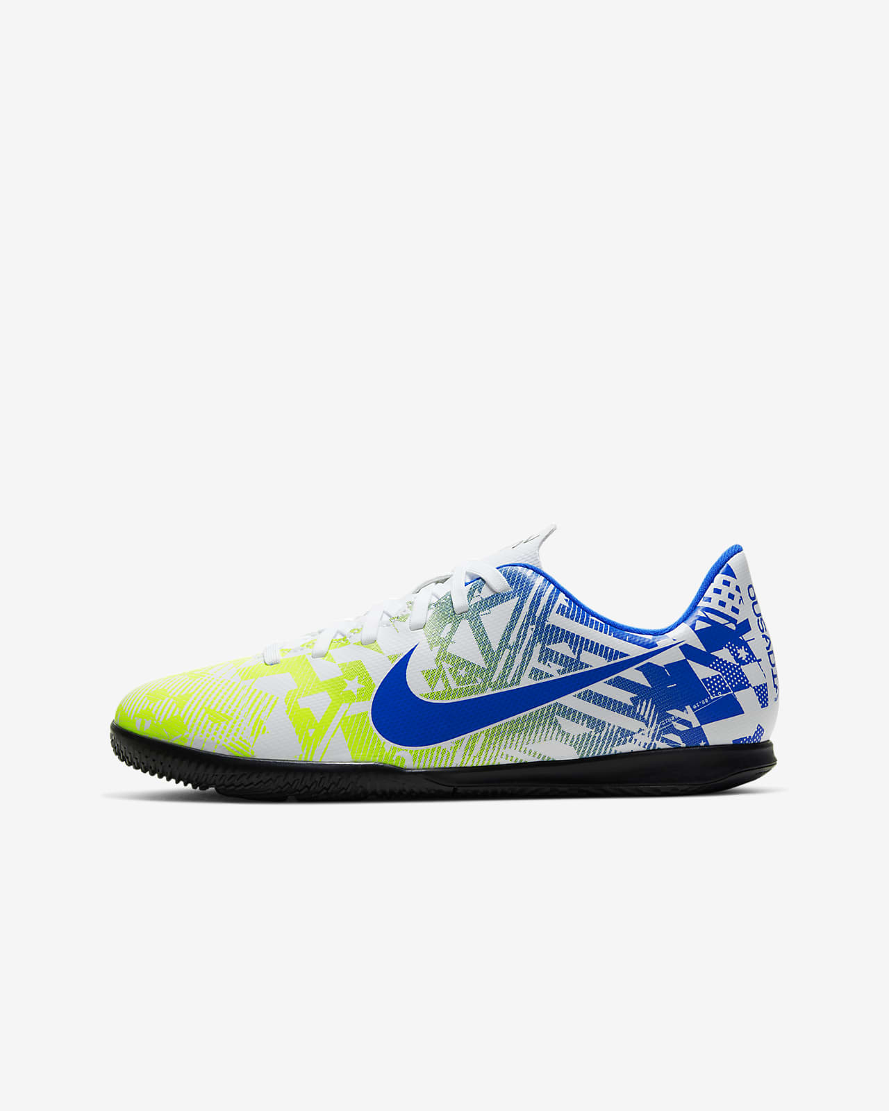 Nike R. Mercurial Vapor 13 Club Neymar R. IC Younger and Older Kids' Indoor Court Football Shoe