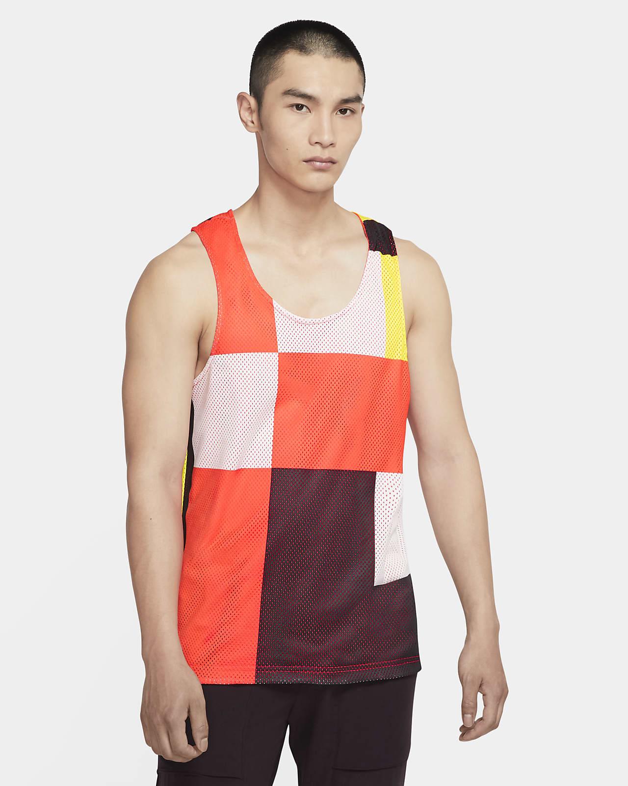 เสื้อกล้ามเทรนนิ่งผู้ชายใส่ได้ 2 ด้าน Nike