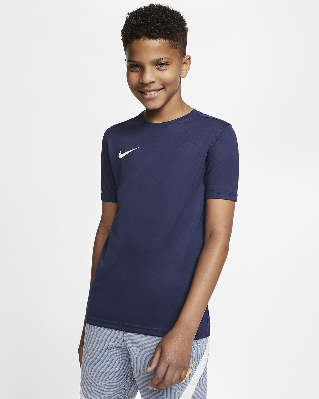 Nike Dri-FIT Park 7 Big Kids' Soccer Jersey