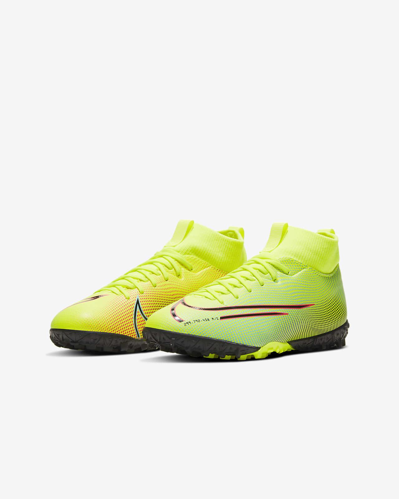 Nike Jr. Mercurial Superfly 7 Academy MDS TF Fußballschuh für Kunstrasen für jüngereältere Kinder