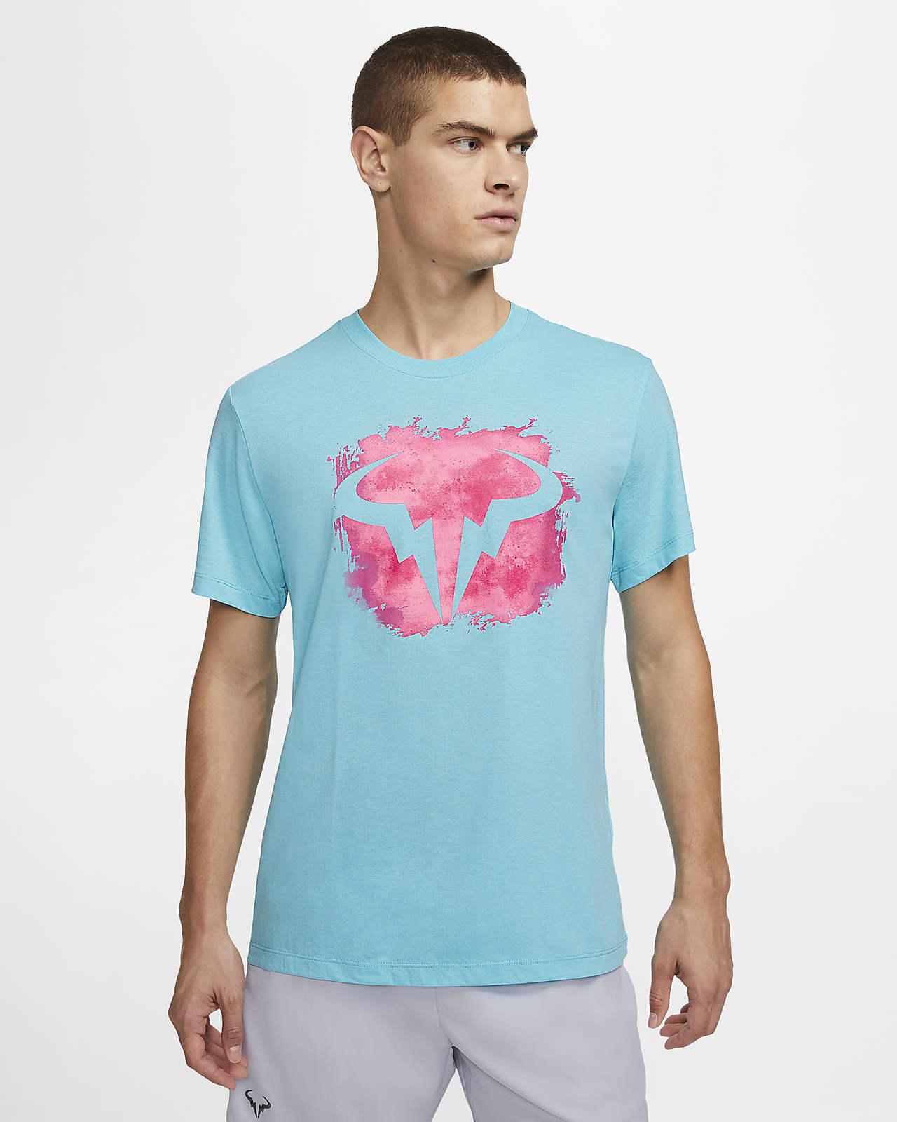 Tennis-t-shirt NikeCourt Dri-FIT Rafa för män