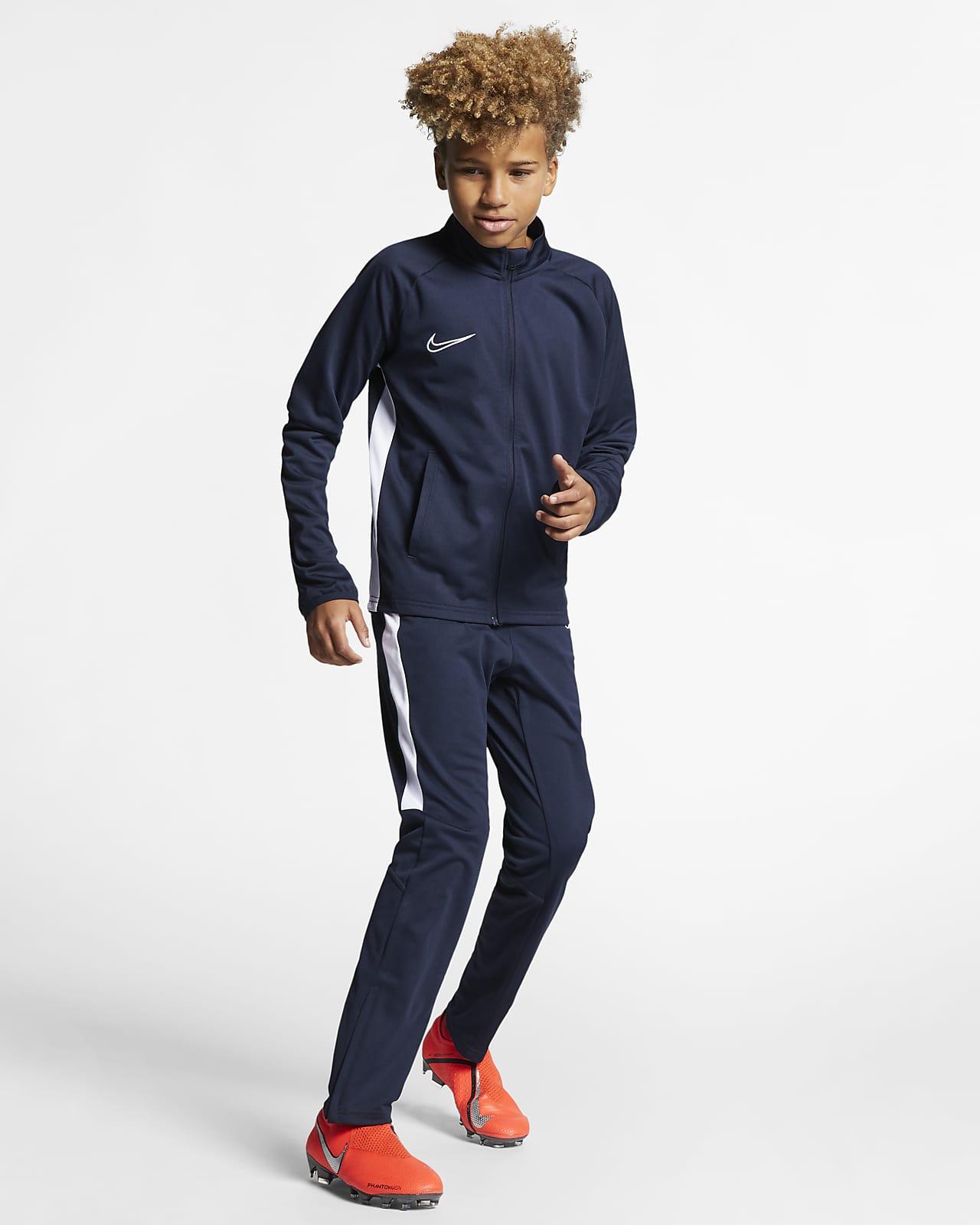 sostén estornudar Exclusivo  Nike Dri-FIT Academy Chándal de fútbol - Niño/a. Nike ES