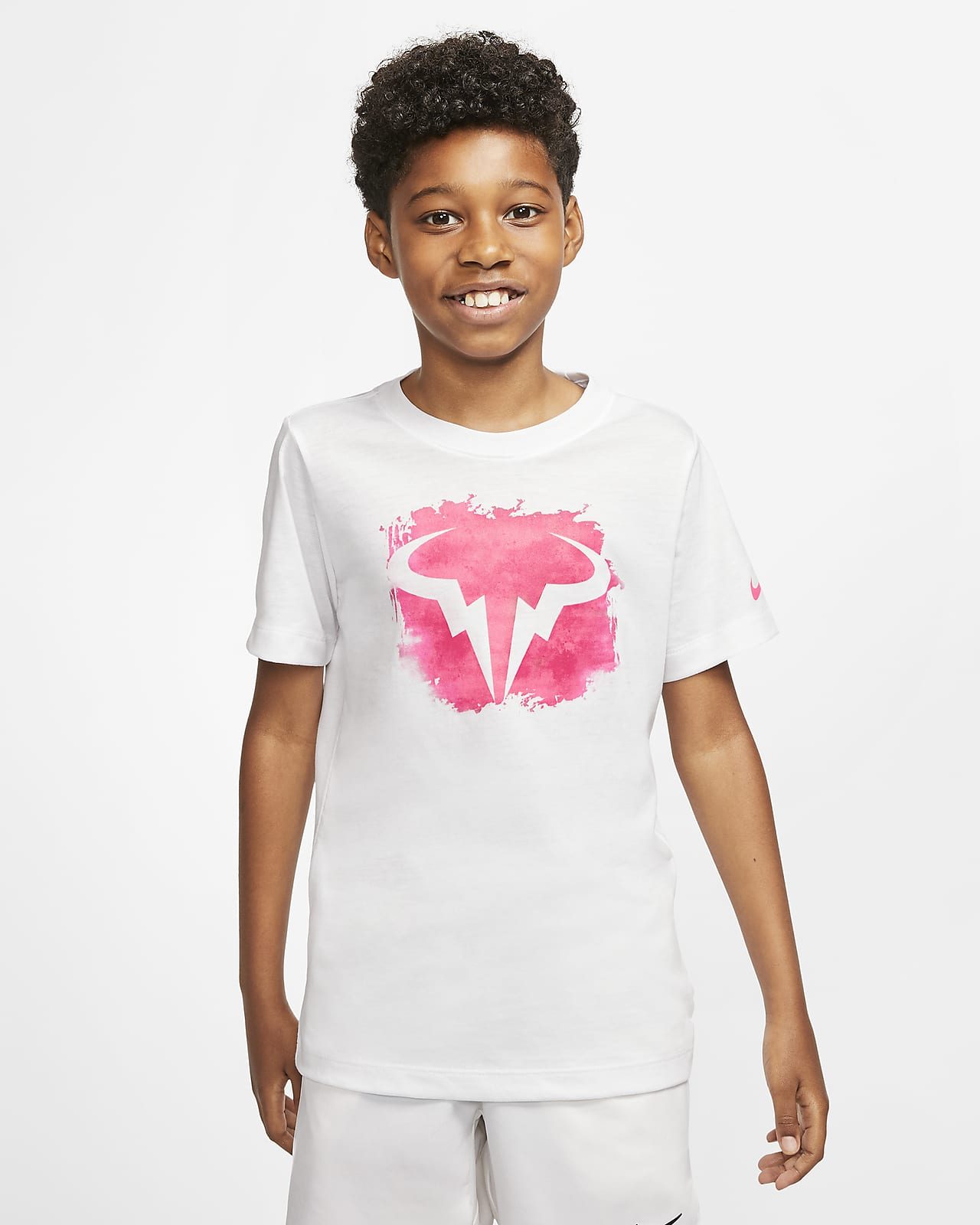 T-shirt da tennis NikeCourt Dri-FIT Rafa - Ragazzo