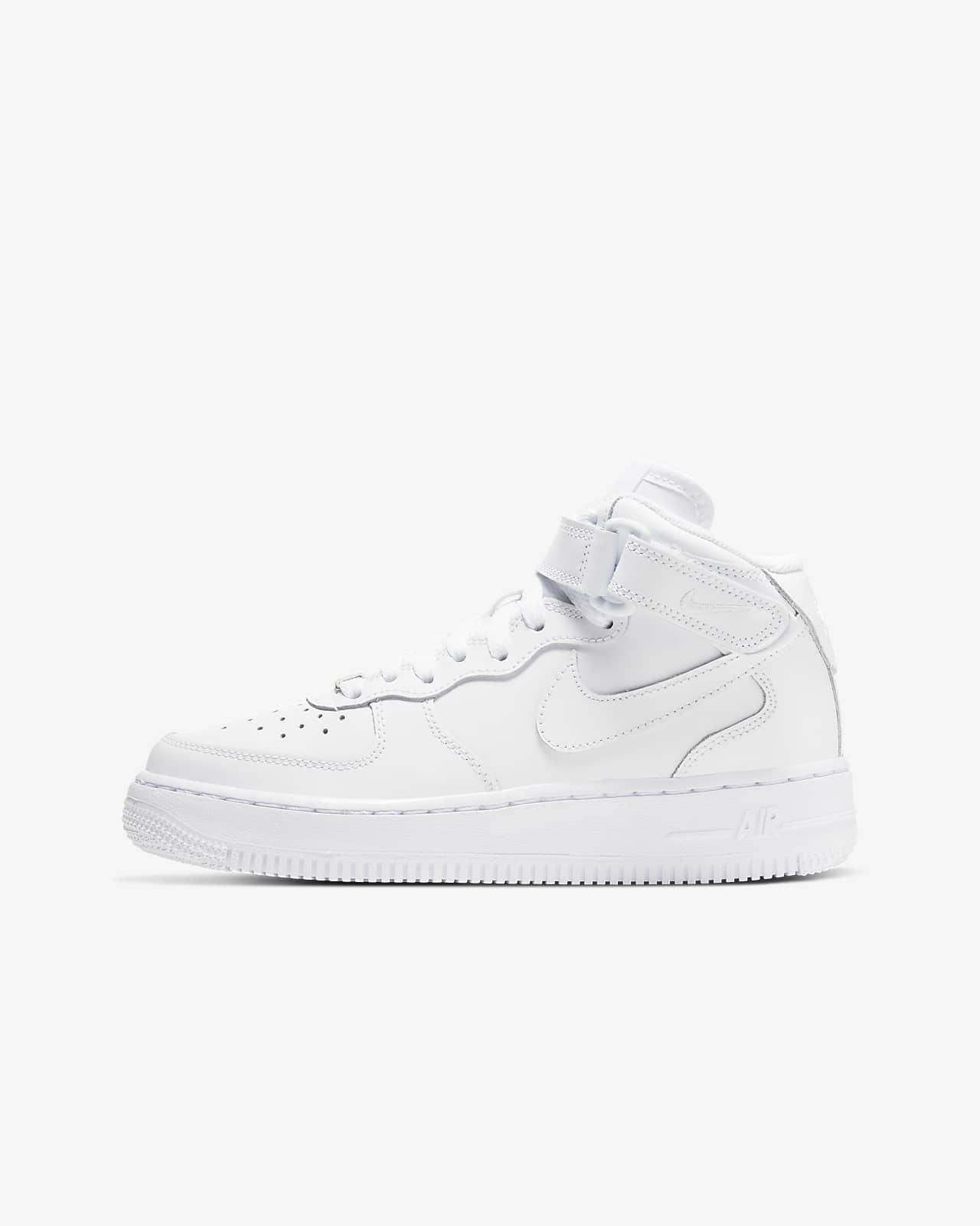 Calzado para niños talla grande Nike Air Force 1 Mid