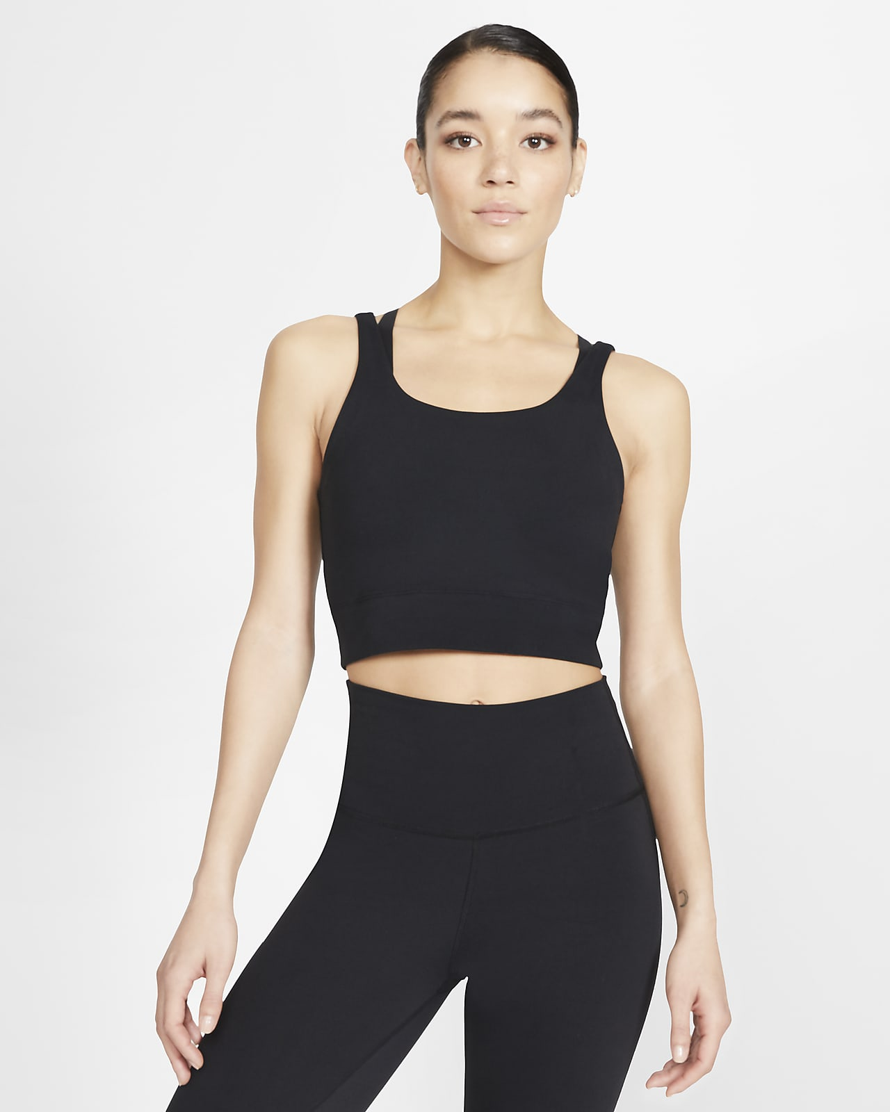Nike Yoga Luxe Women S Infinalon Metallic Tank Nike Com