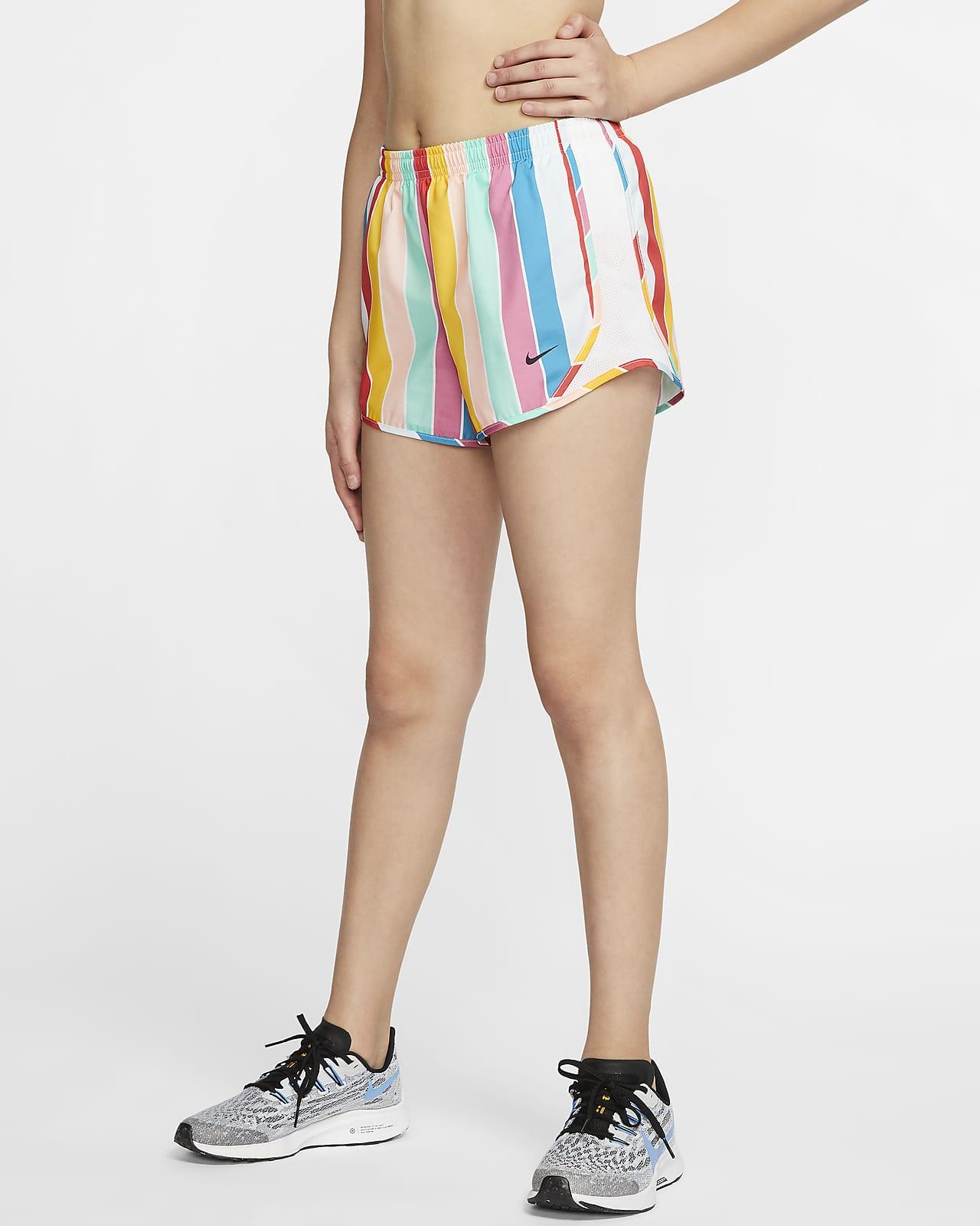 Nike Girl`s Dri FIT Dry Tempo Running Shorts